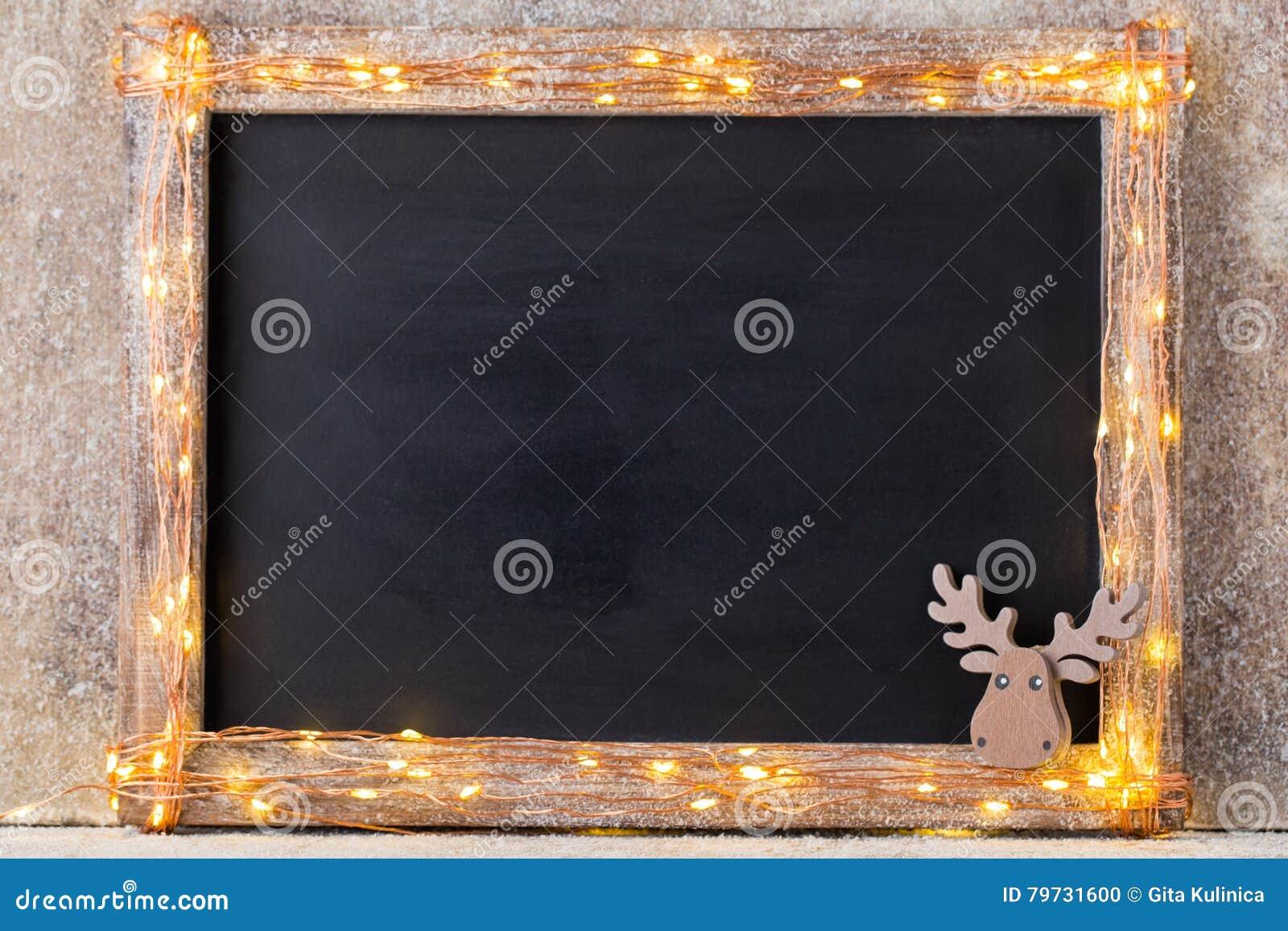 Предпосылка рождества деревенская - год сбора винограда planked древесина с светами a