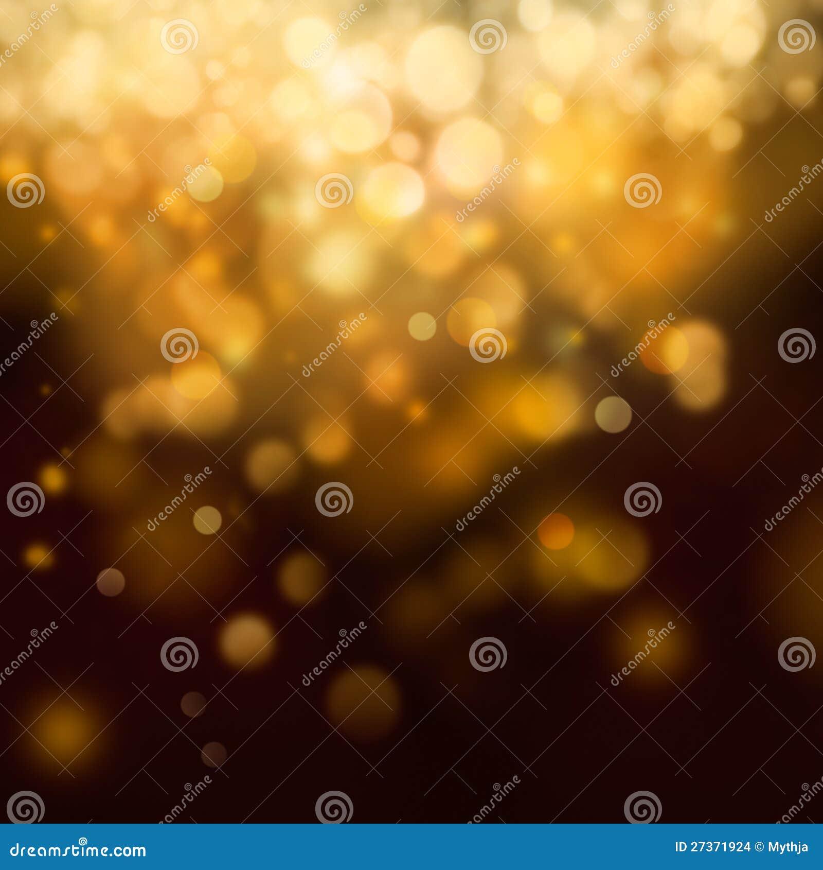 Предпосылка рождества золота праздничная