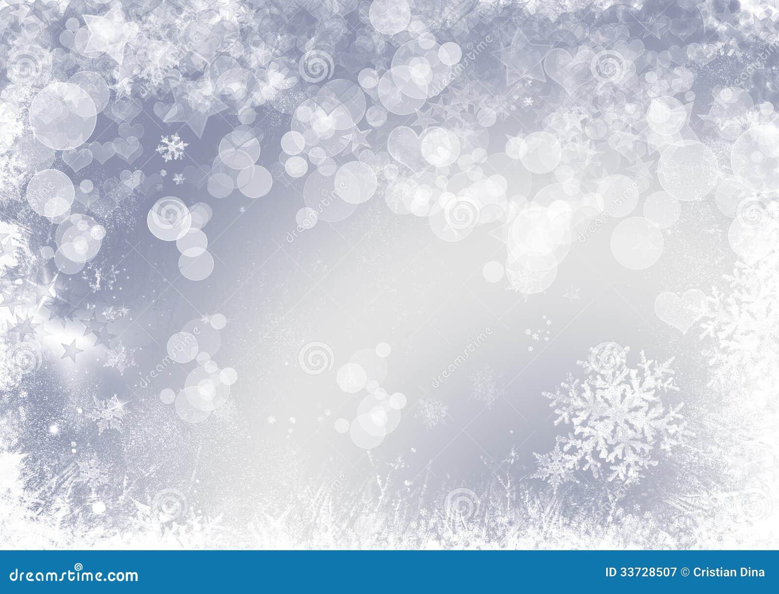 Предпосылка рождества хлопь снежка