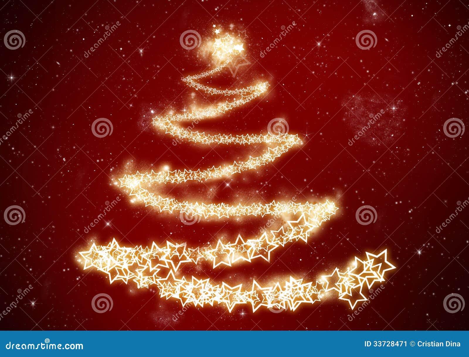 Предпосылка рождественской елки