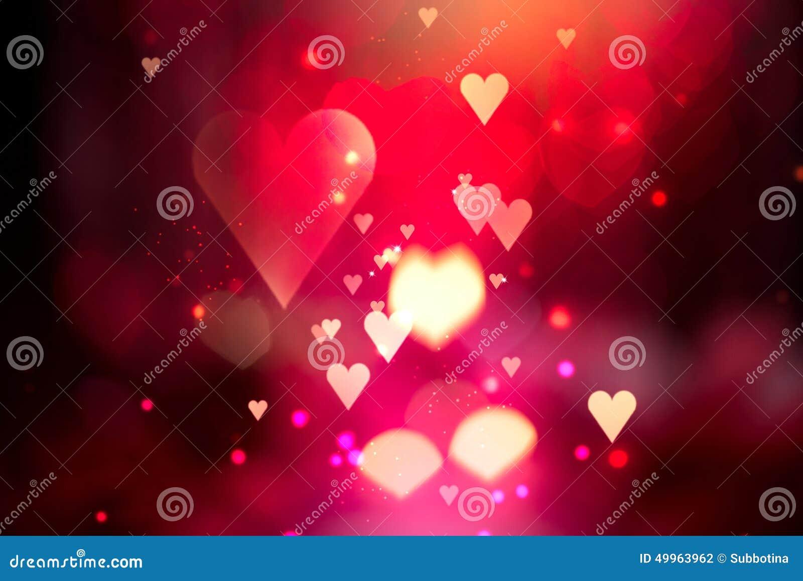 Предпосылка сердец валентинки абстрактная