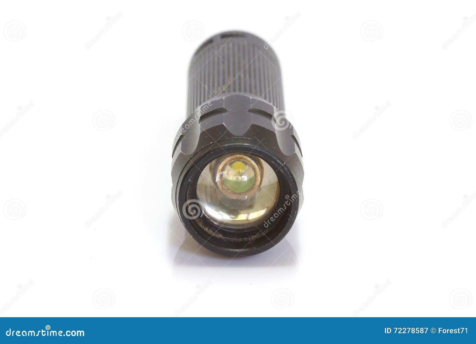 Download Предпосылка электрофонаря черным изолированная цветом Стоковое Изображение - изображение насчитывающей свет, backhoe: 72278587