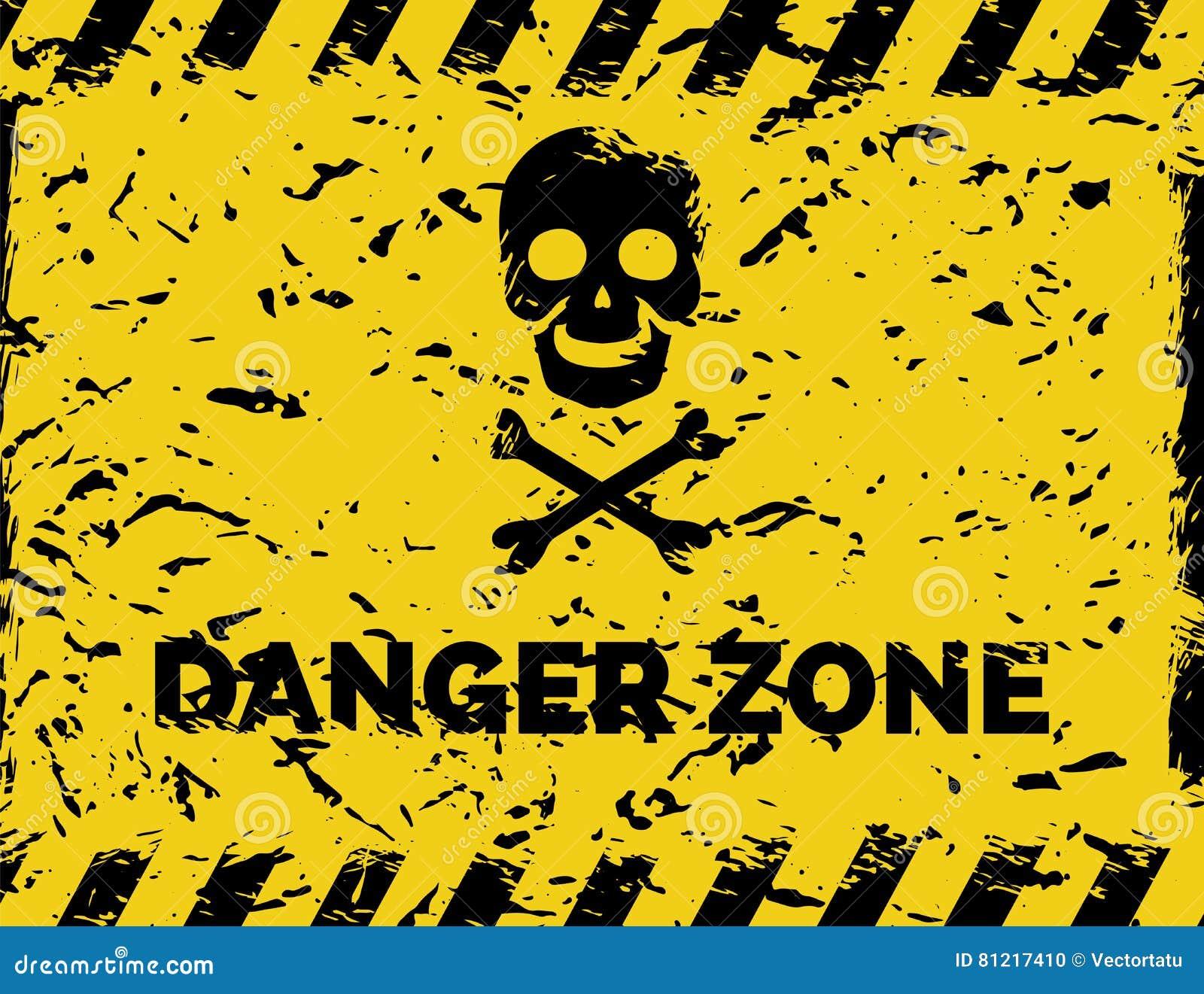 Предпосылка grunge опасной зоны