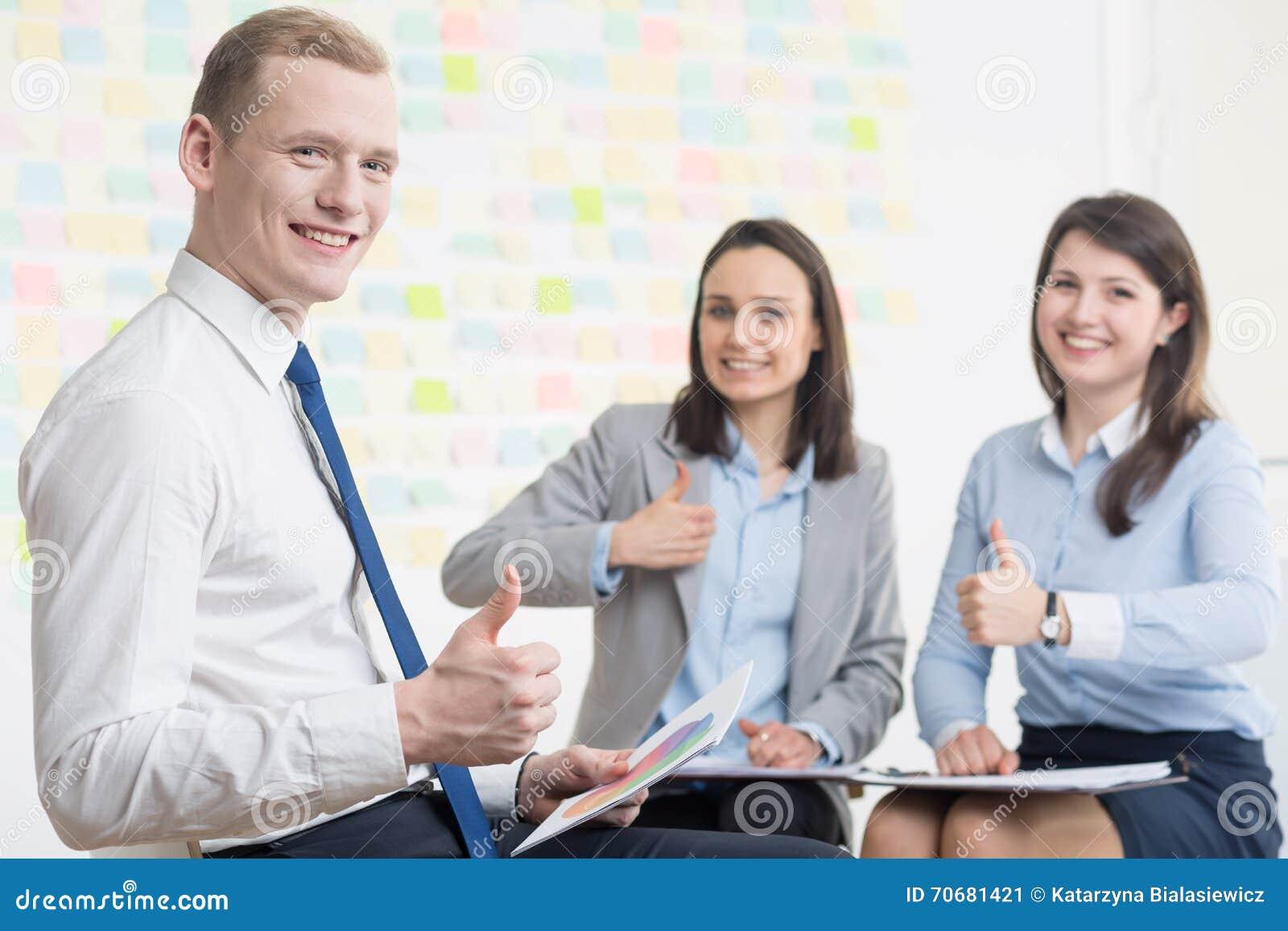 Предприниматели с положительной ориентацией