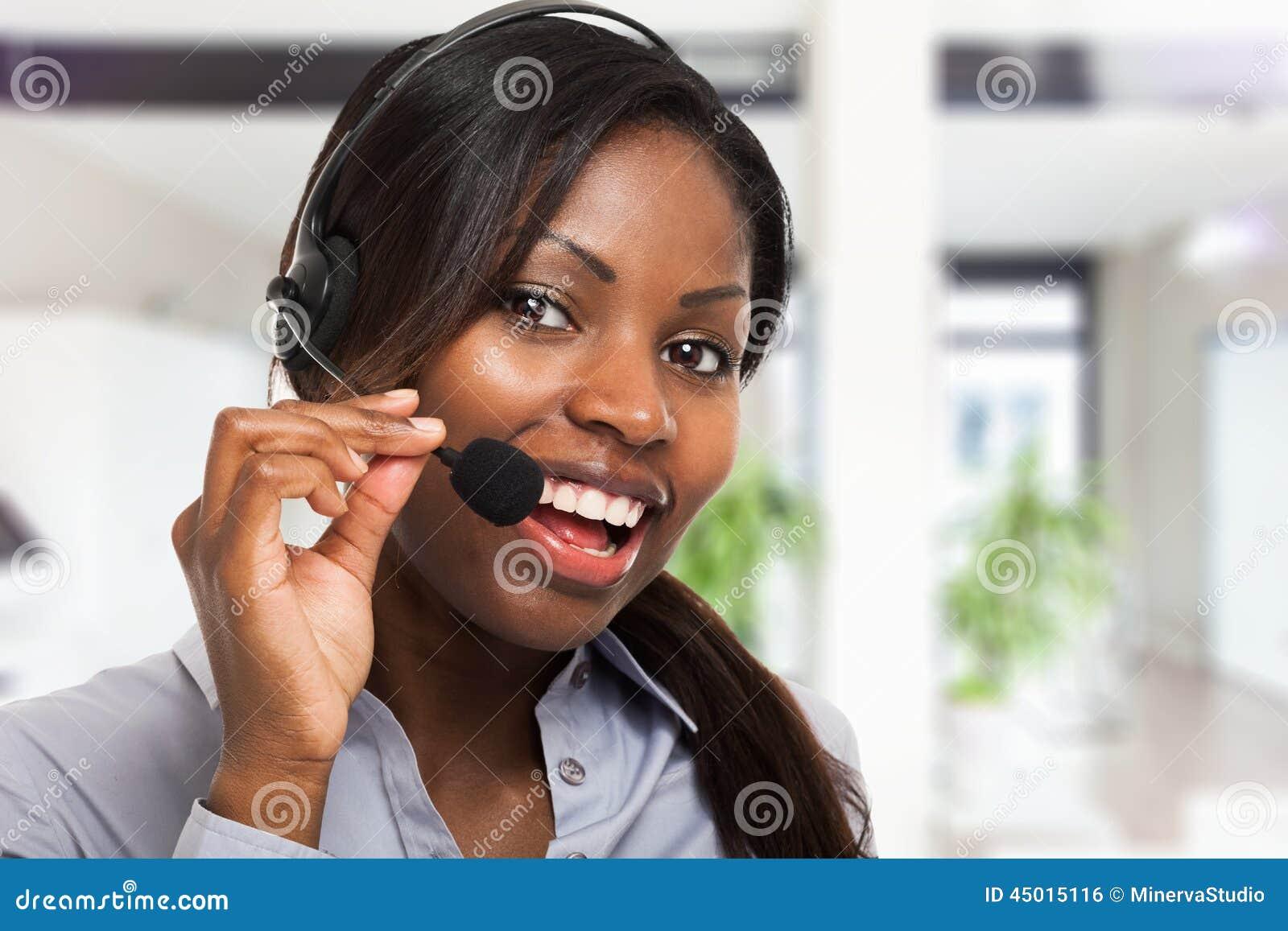 Представитель клиента на работе