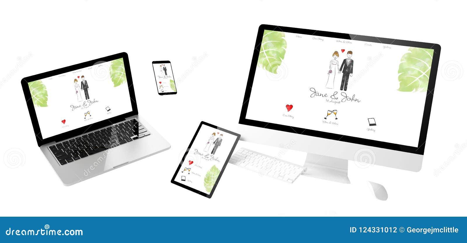 приборы летания wedding отзывчивый вебсайт