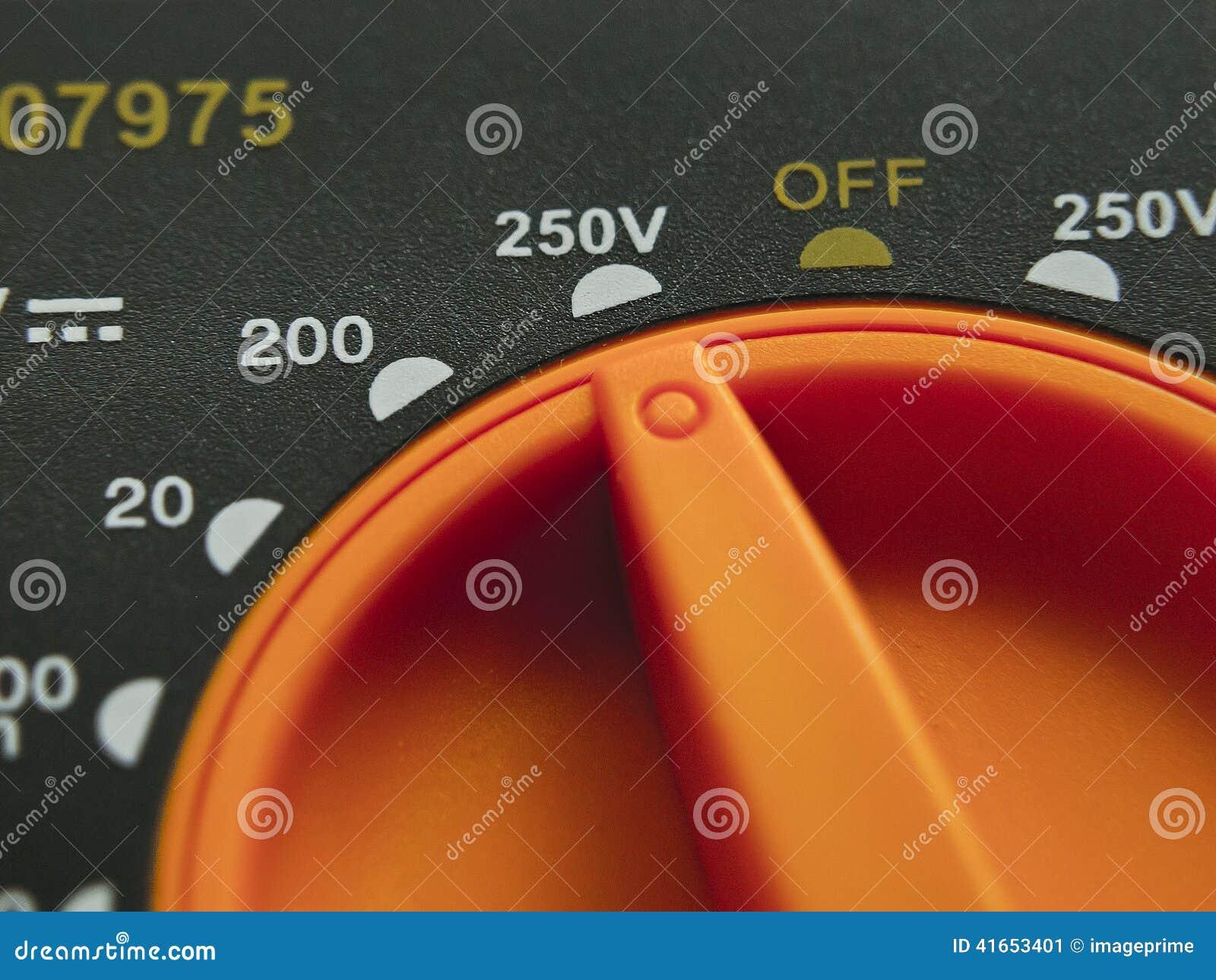 Прибор измерений вольтамперомметра электрический
