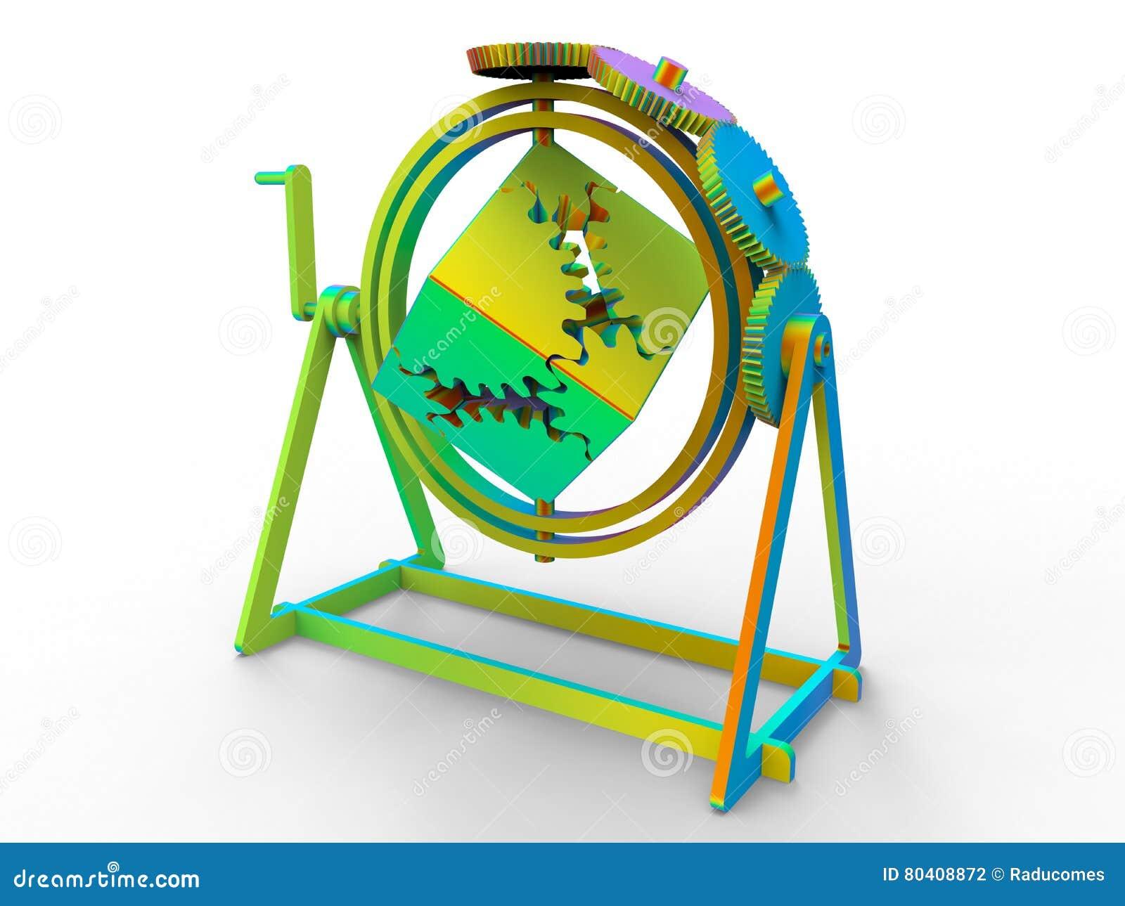 Прибор куба Clockwork