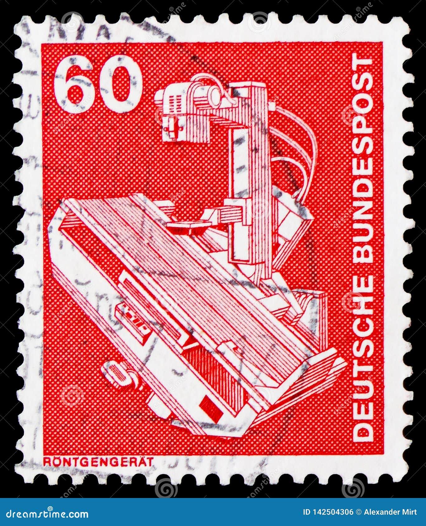 Прибор рентгеновского снимка, индустрия и serie 1975-1982 Definitives технологии, около 1978