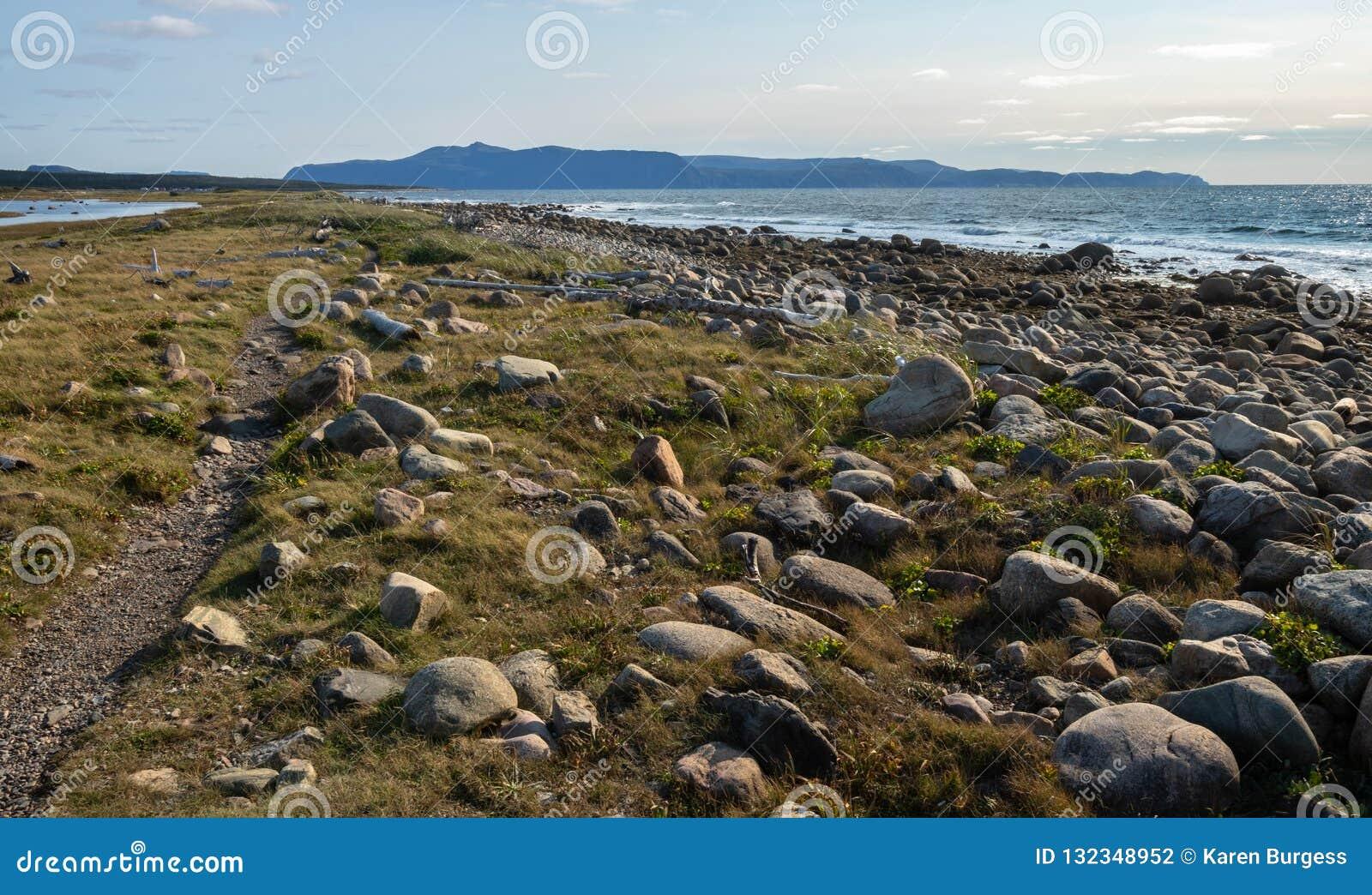 Прибрежная геология Gros Morne