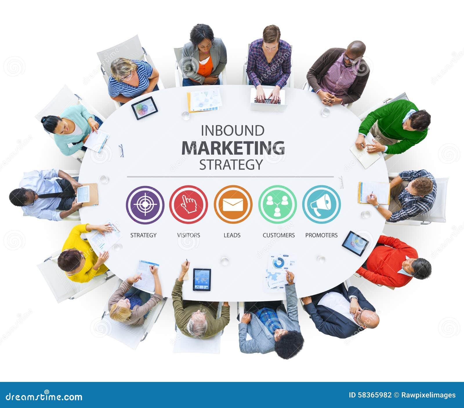 Прибывающая реклама коммерчески клеймя Co маркетинговой стратегии