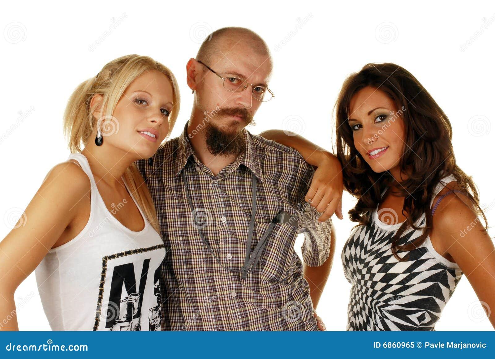 привлекательный мужчина друга женщин их 2