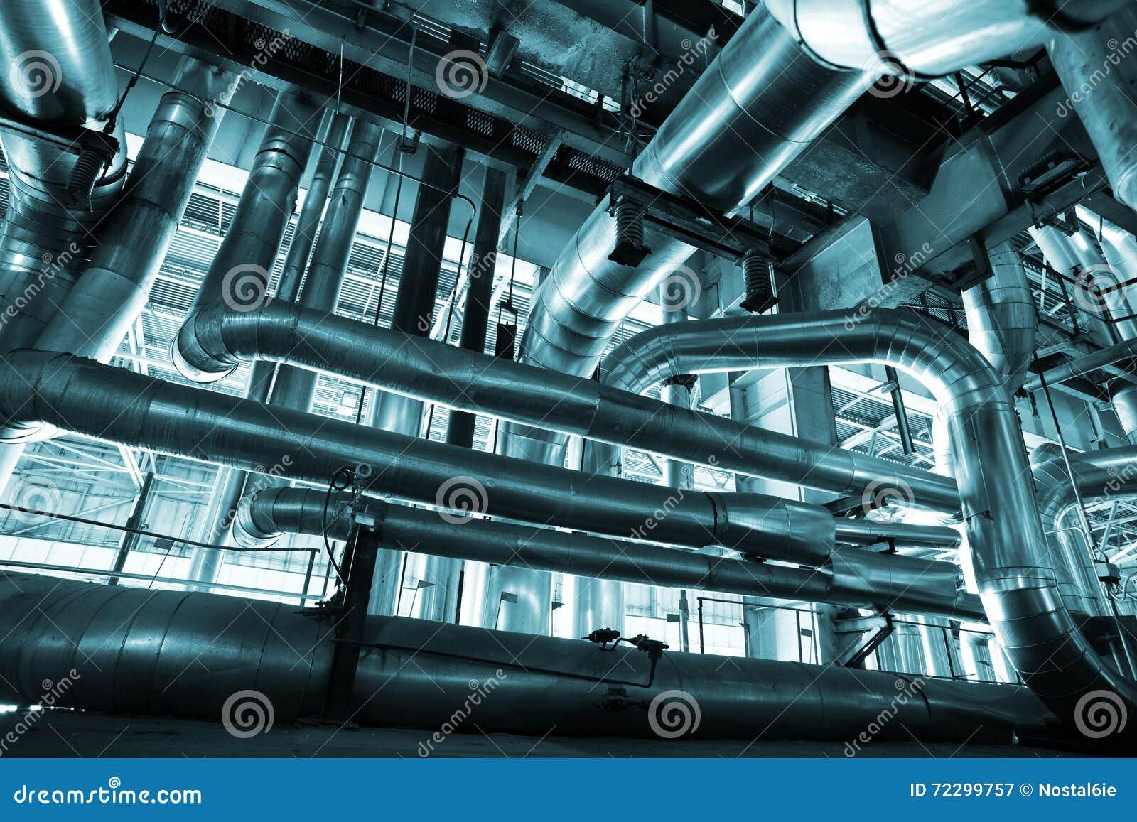 Download привязывает тубопровод оборудования Стоковое Изображение - изображение насчитывающей тяжело, химикат: 72299757