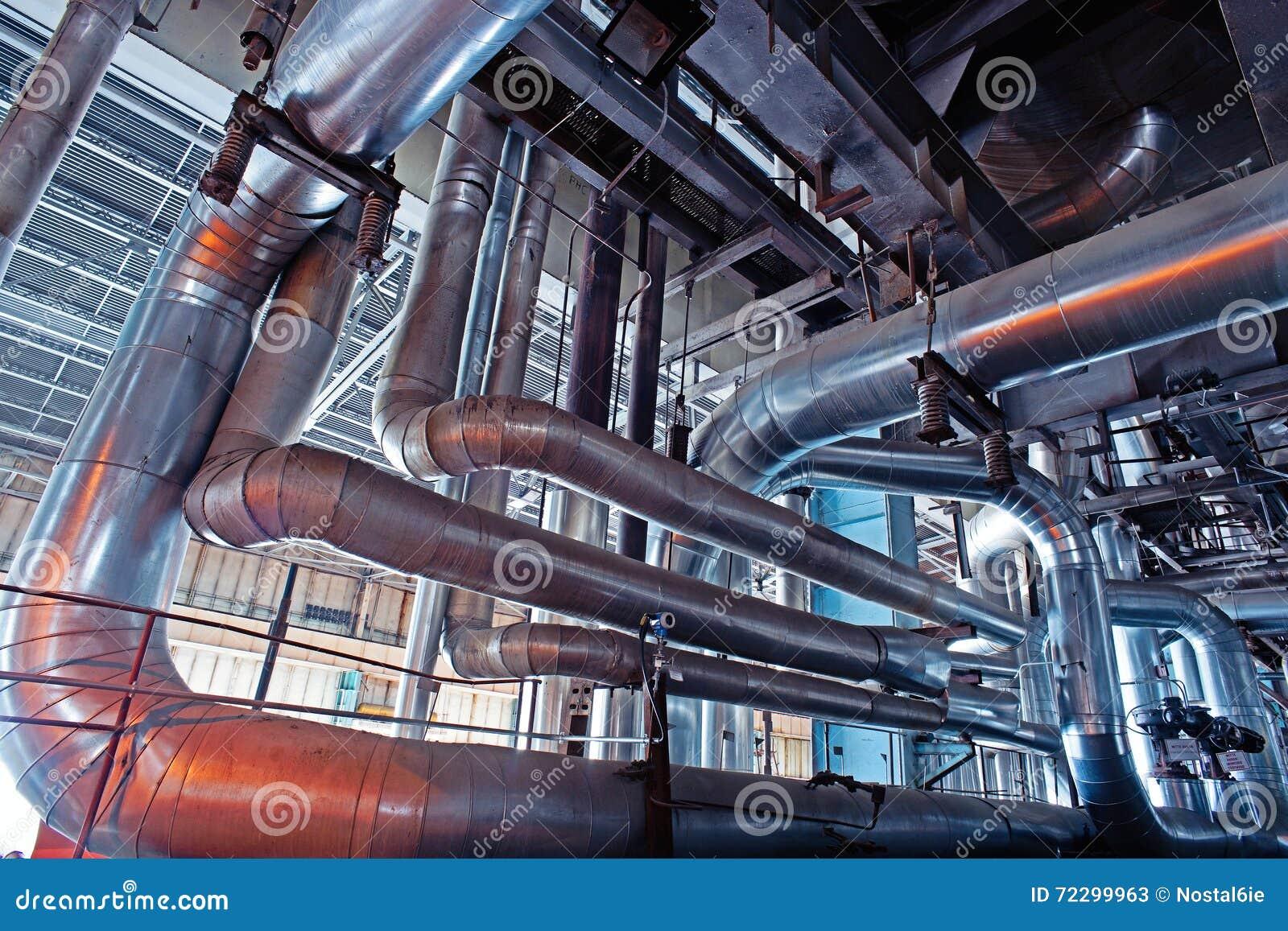 Download привязывает тубопровод оборудования Стоковое Изображение - изображение насчитывающей развитие, жара: 72299963