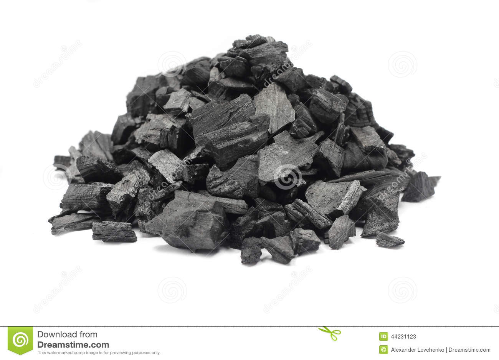 Пригорошня земного угля