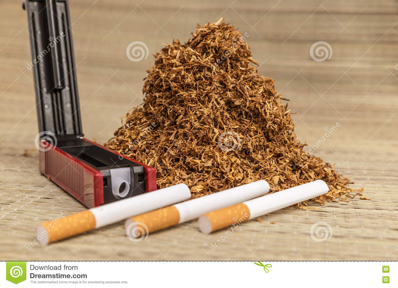 Пригорошня куря табака