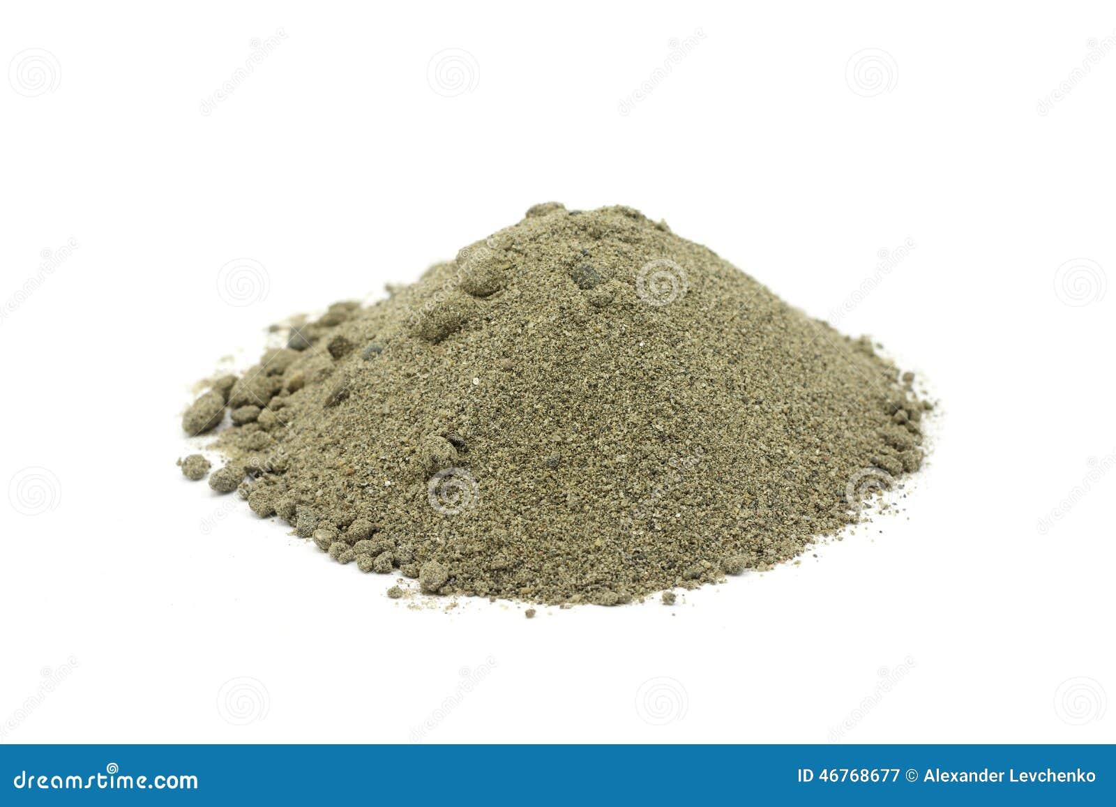 Пригорошня песка реки