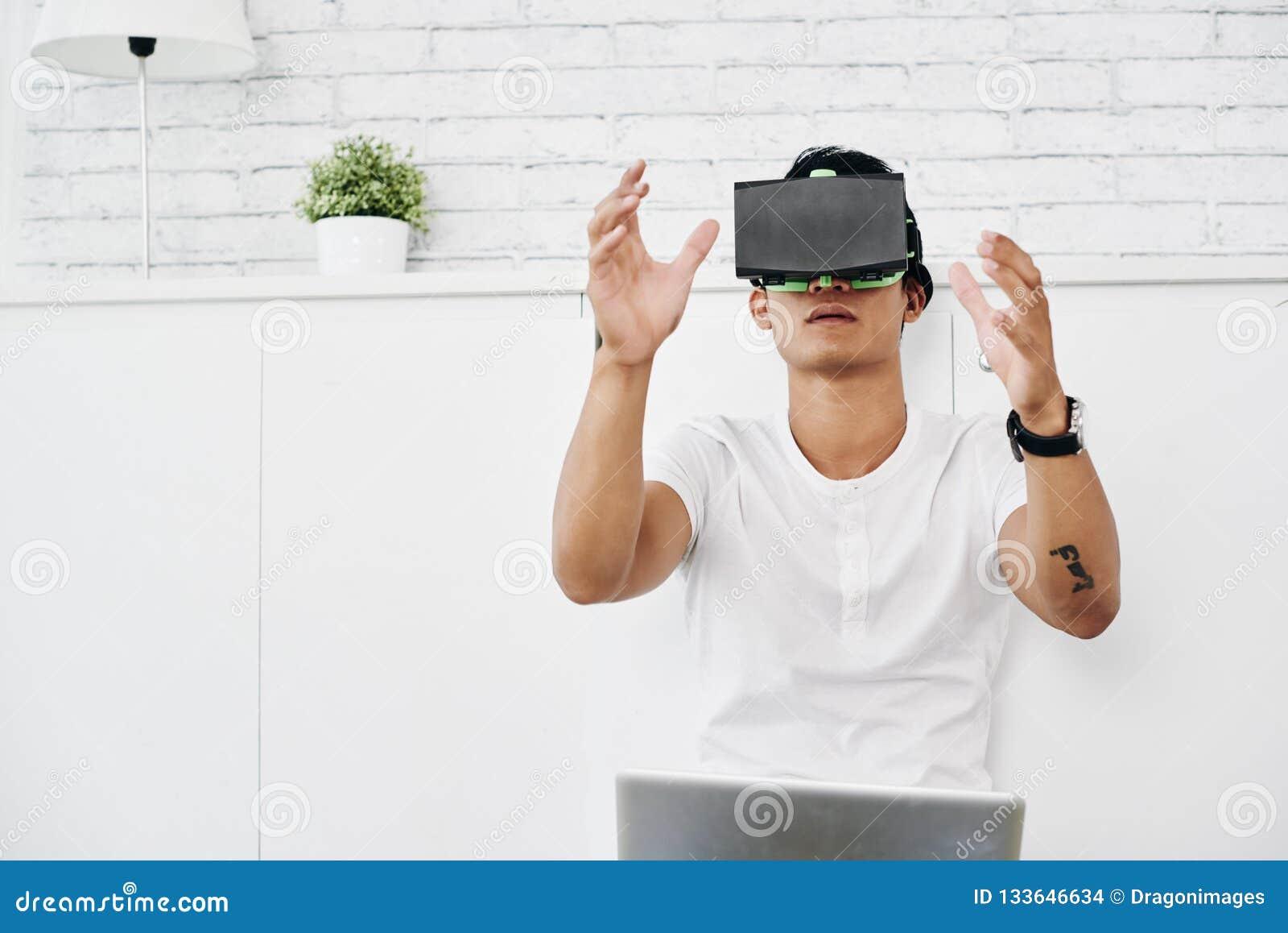 Применение испытания VR