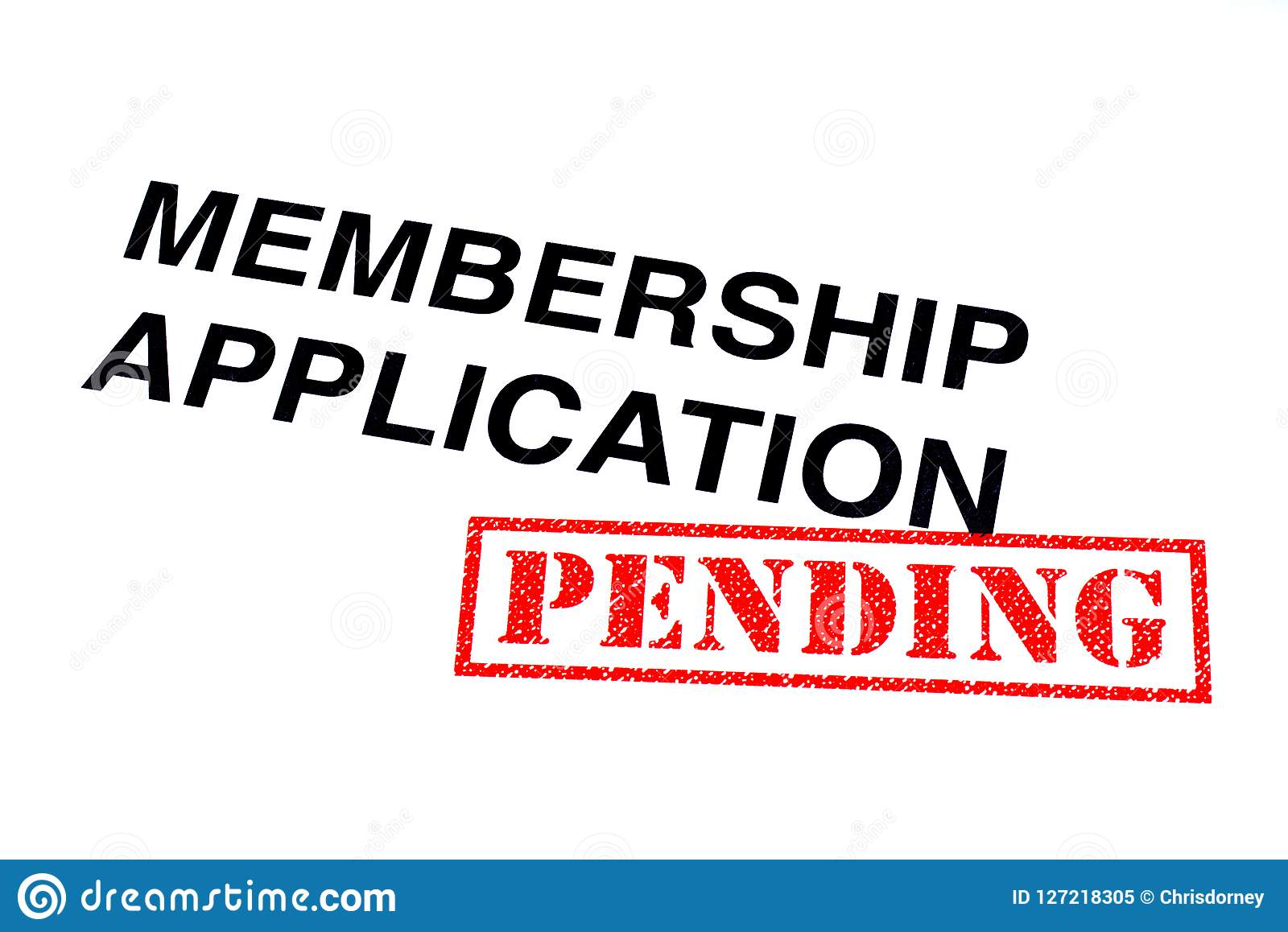 Применение членства ожидающее решения