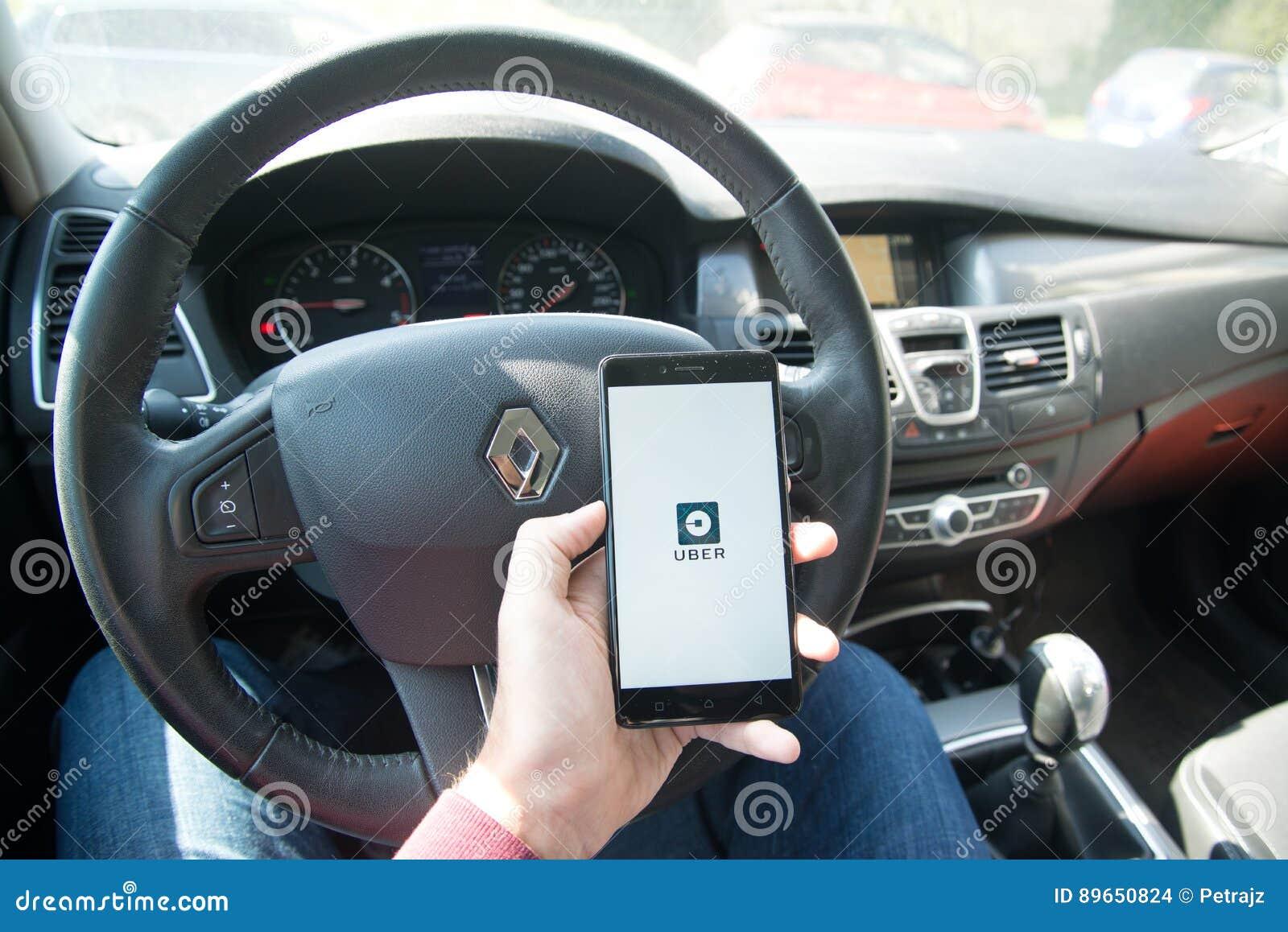 Применение Uber