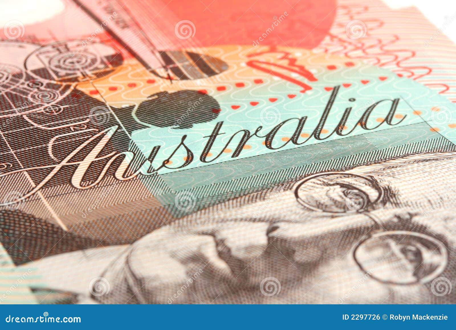 примечание 20 австралийского доллара
