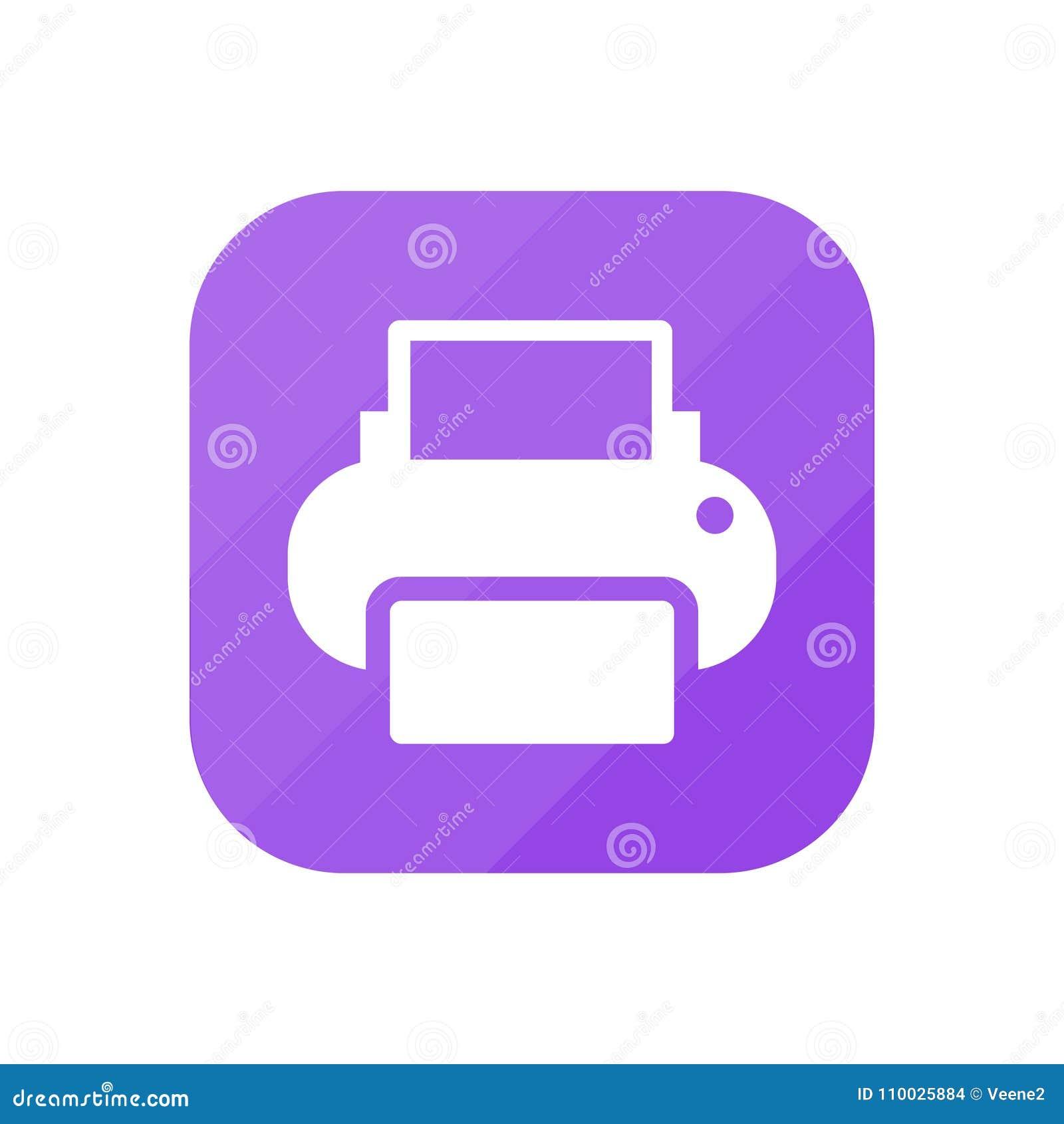 Принтер - значок App