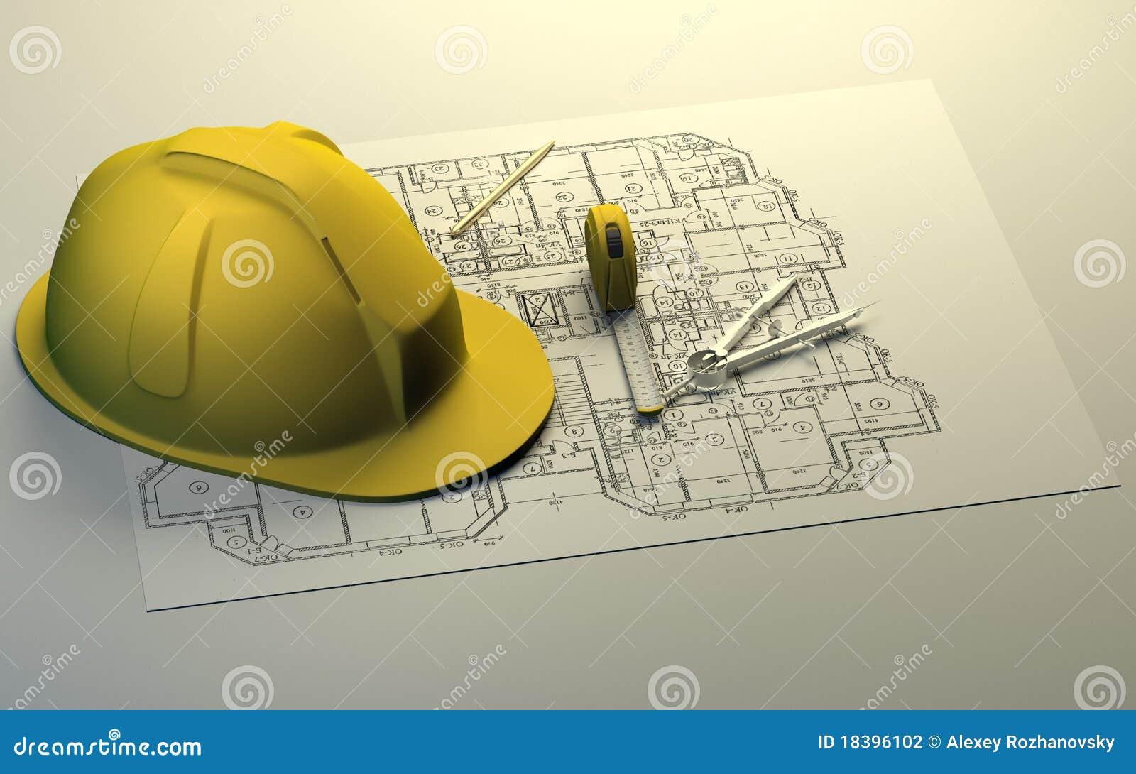 принципиальная схема здания
