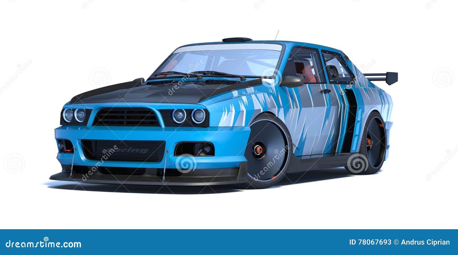 Схема автомобиля в 3d