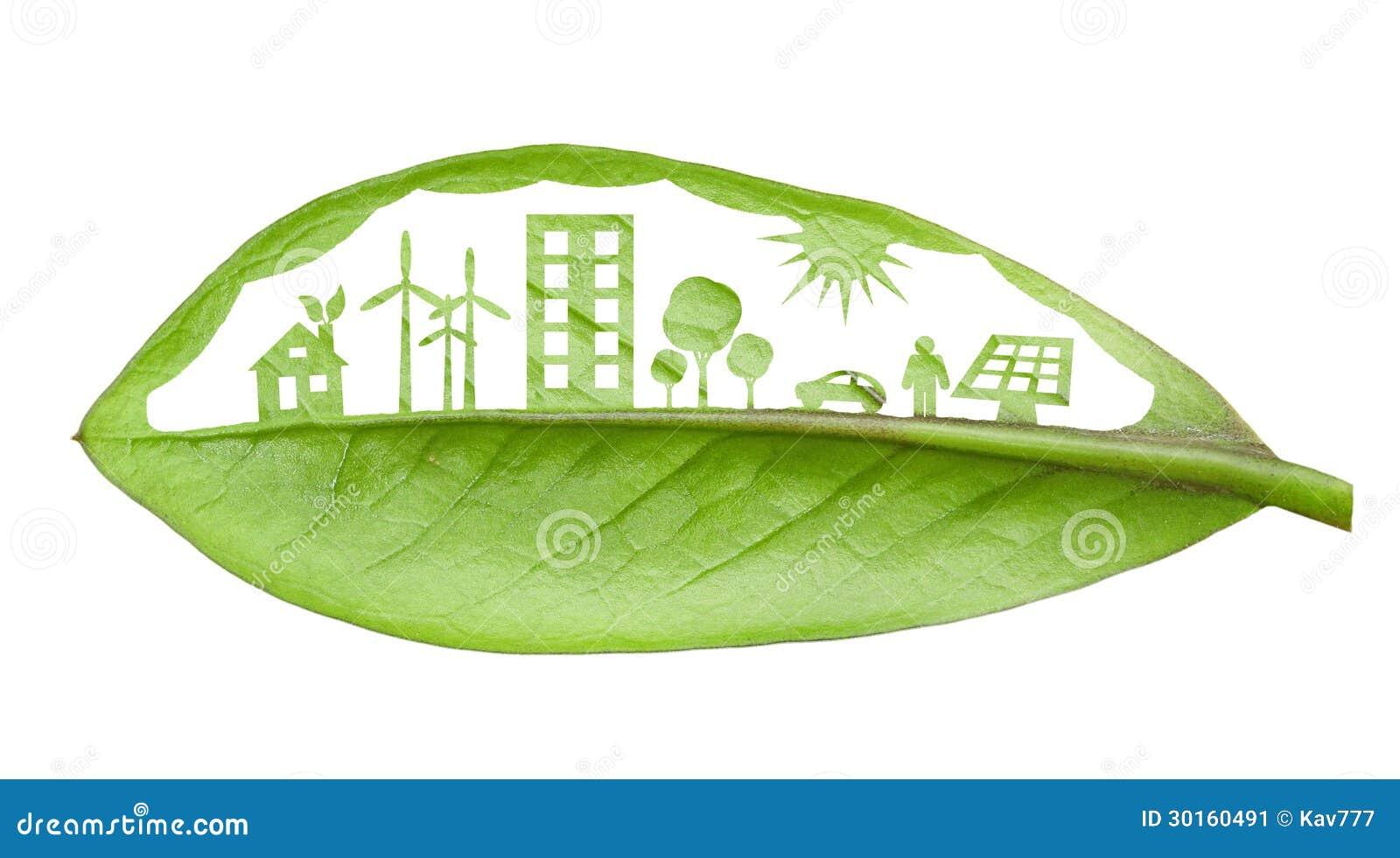 Схема зеленого города