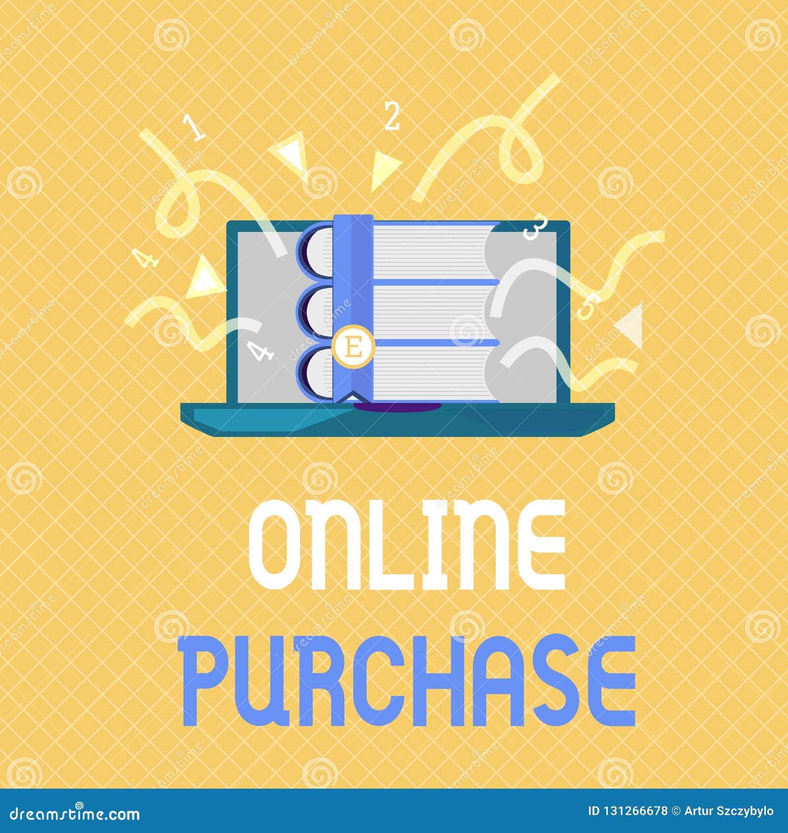 Приобретение текста сочинительства слова онлайн Концепция дела для товаров электронной коммерции приобретений от над интернета