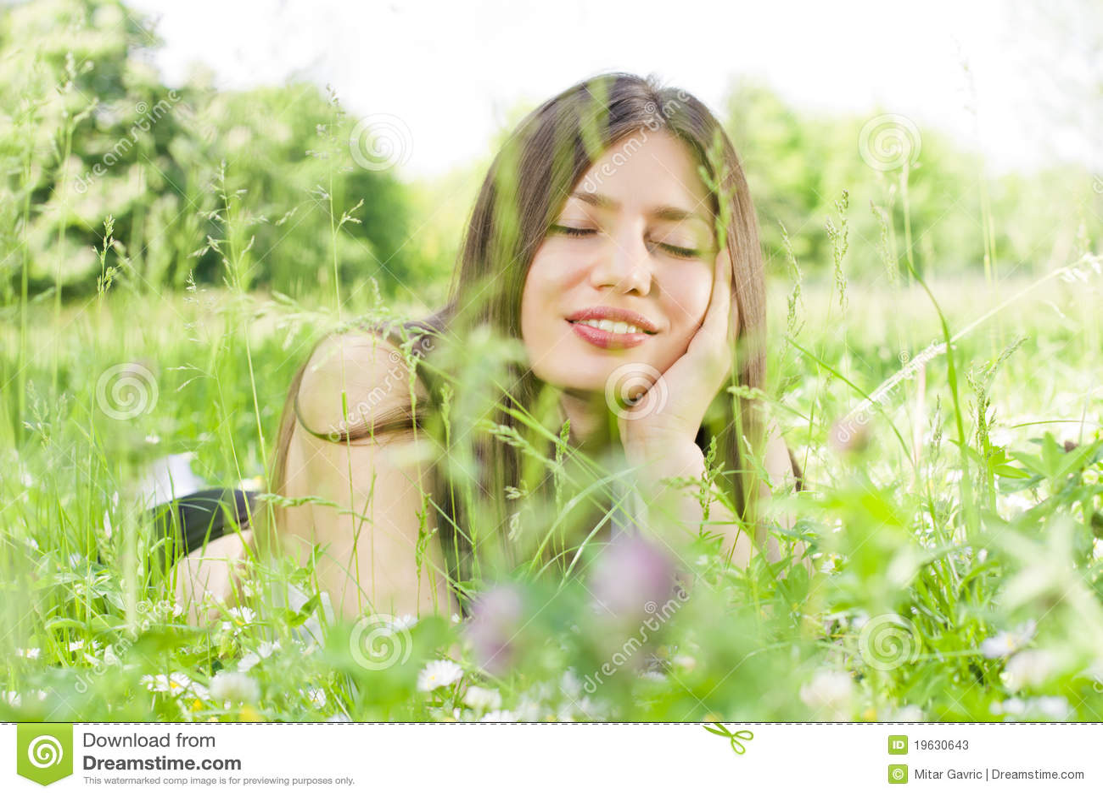 Красотки и природа #11