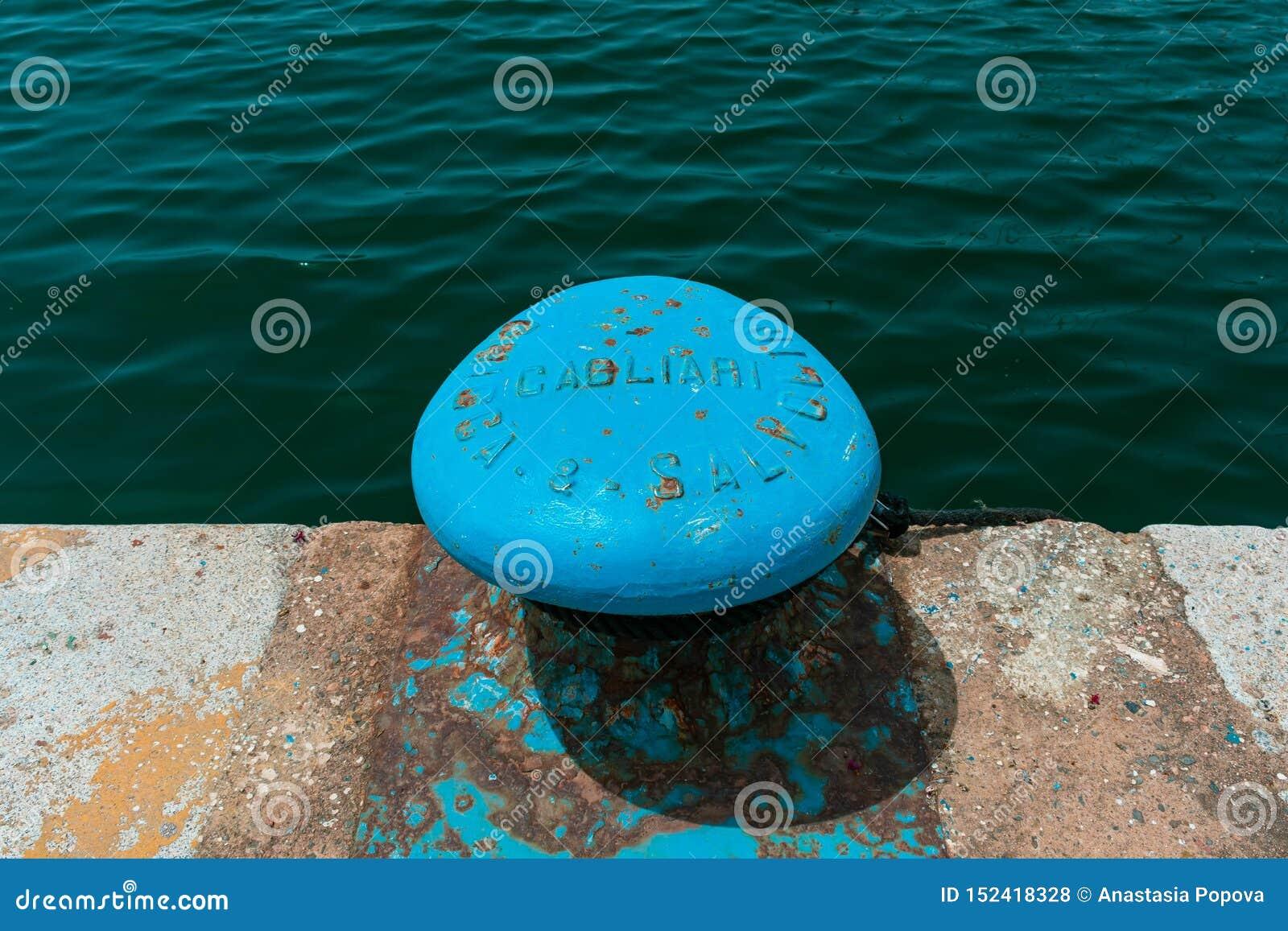 Пристань в гавани Кальяри