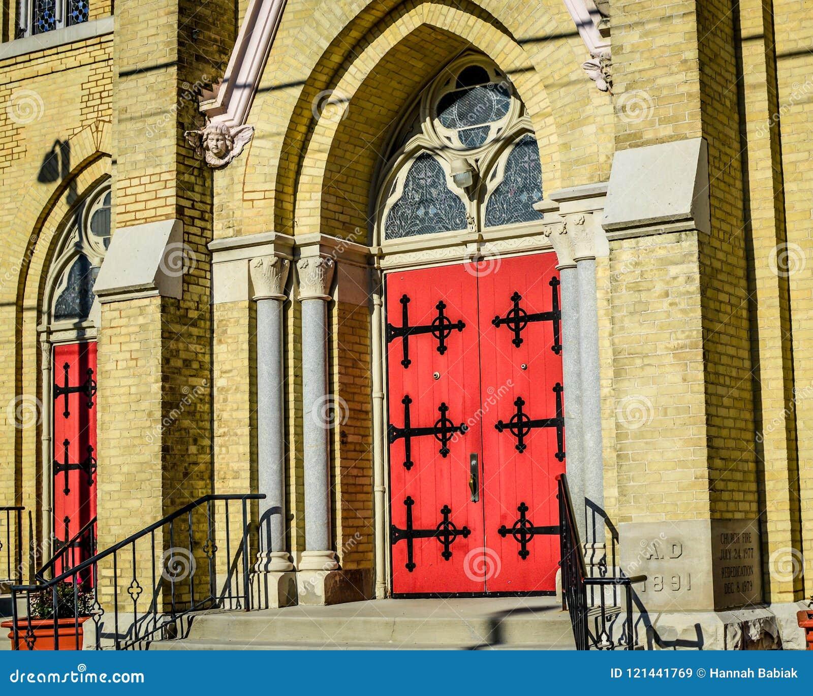 Приход и школа St Charles в городском Burlington, WI