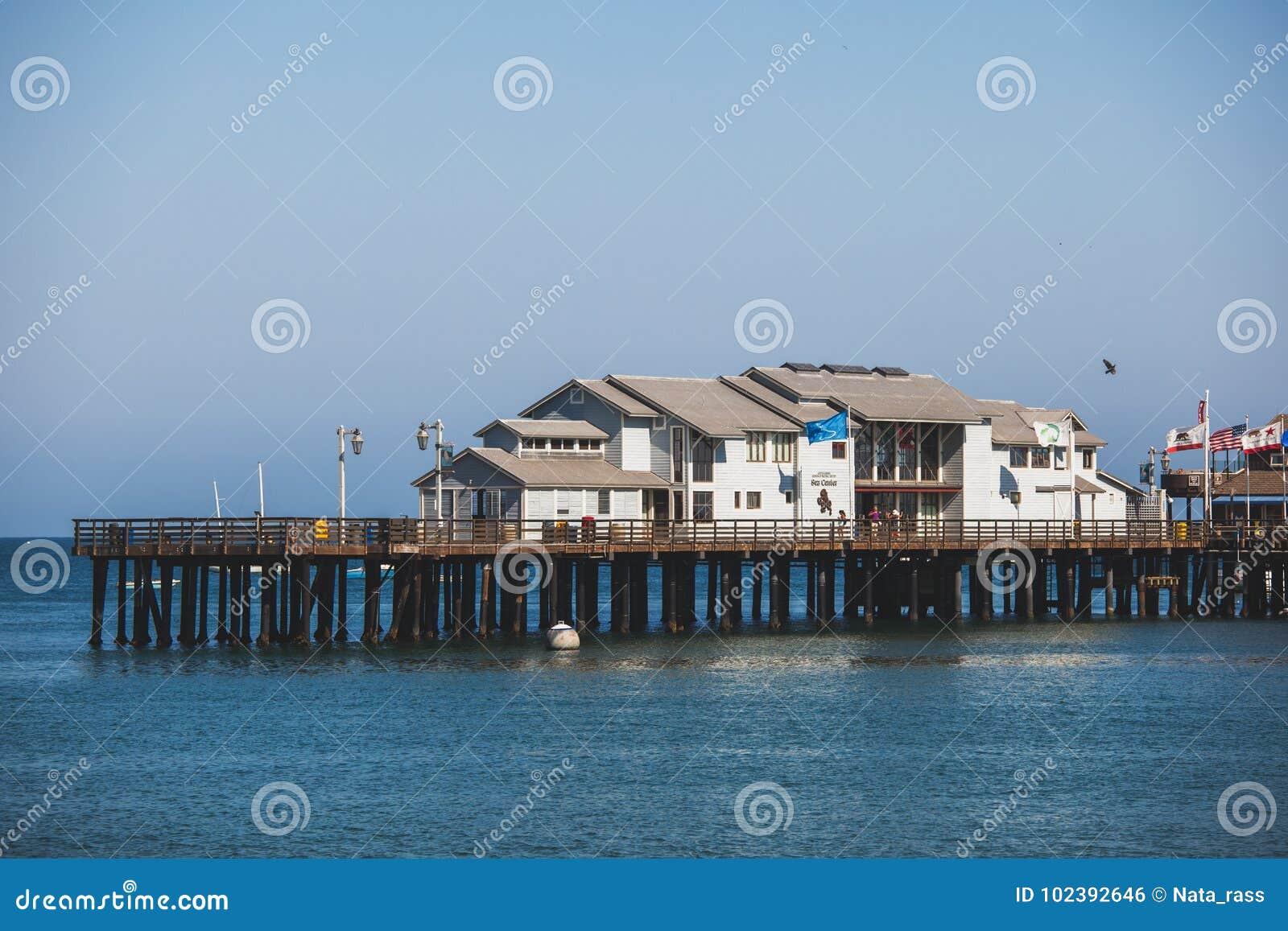 Причал Stearns в Санта-Барбара, США