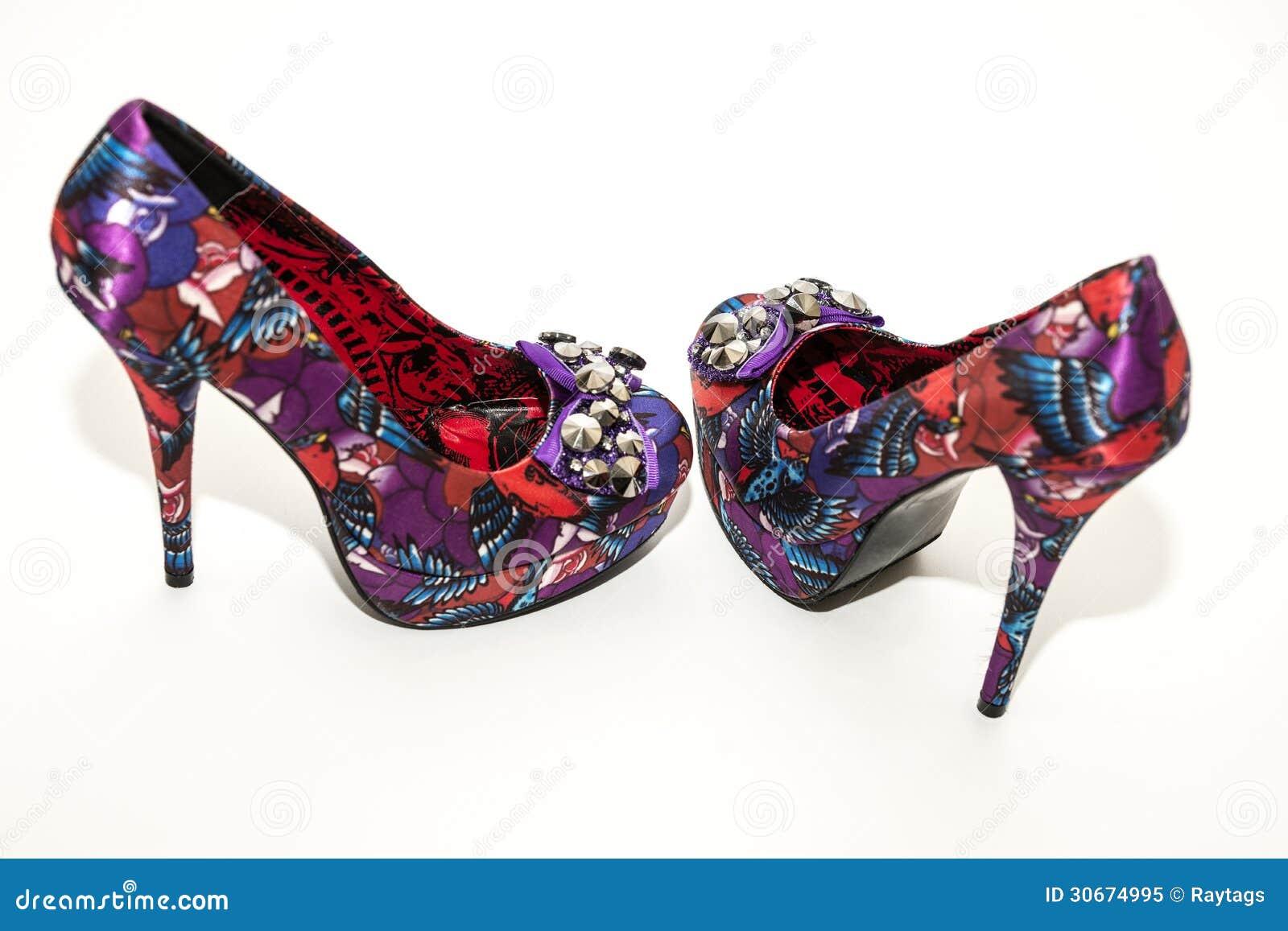 Причудливые ботинки