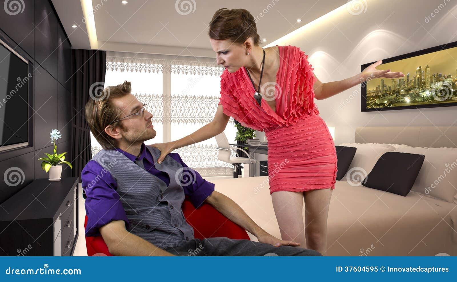 Dominant girlfriend
