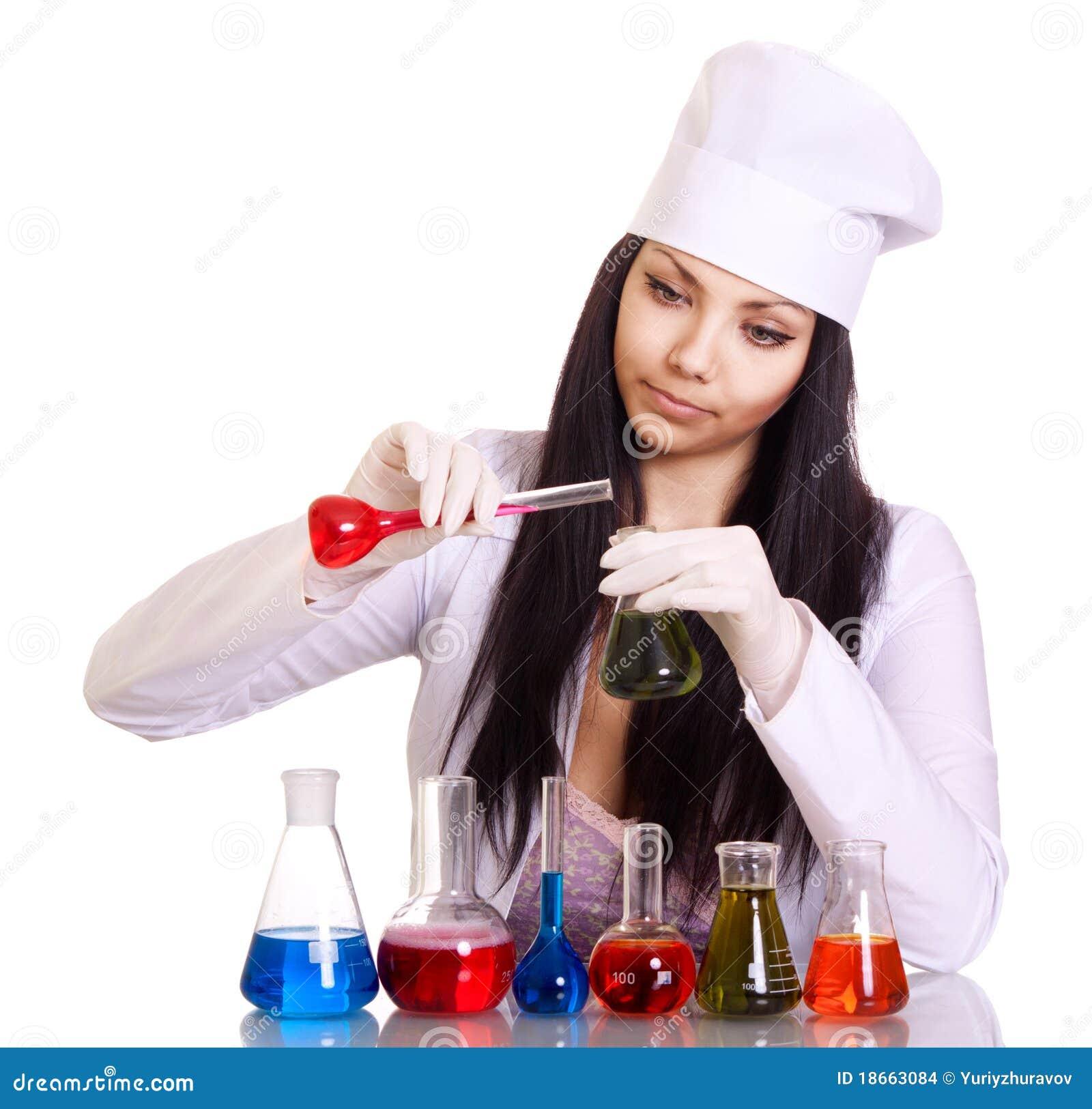 пробирки таблицы научного работника молодые