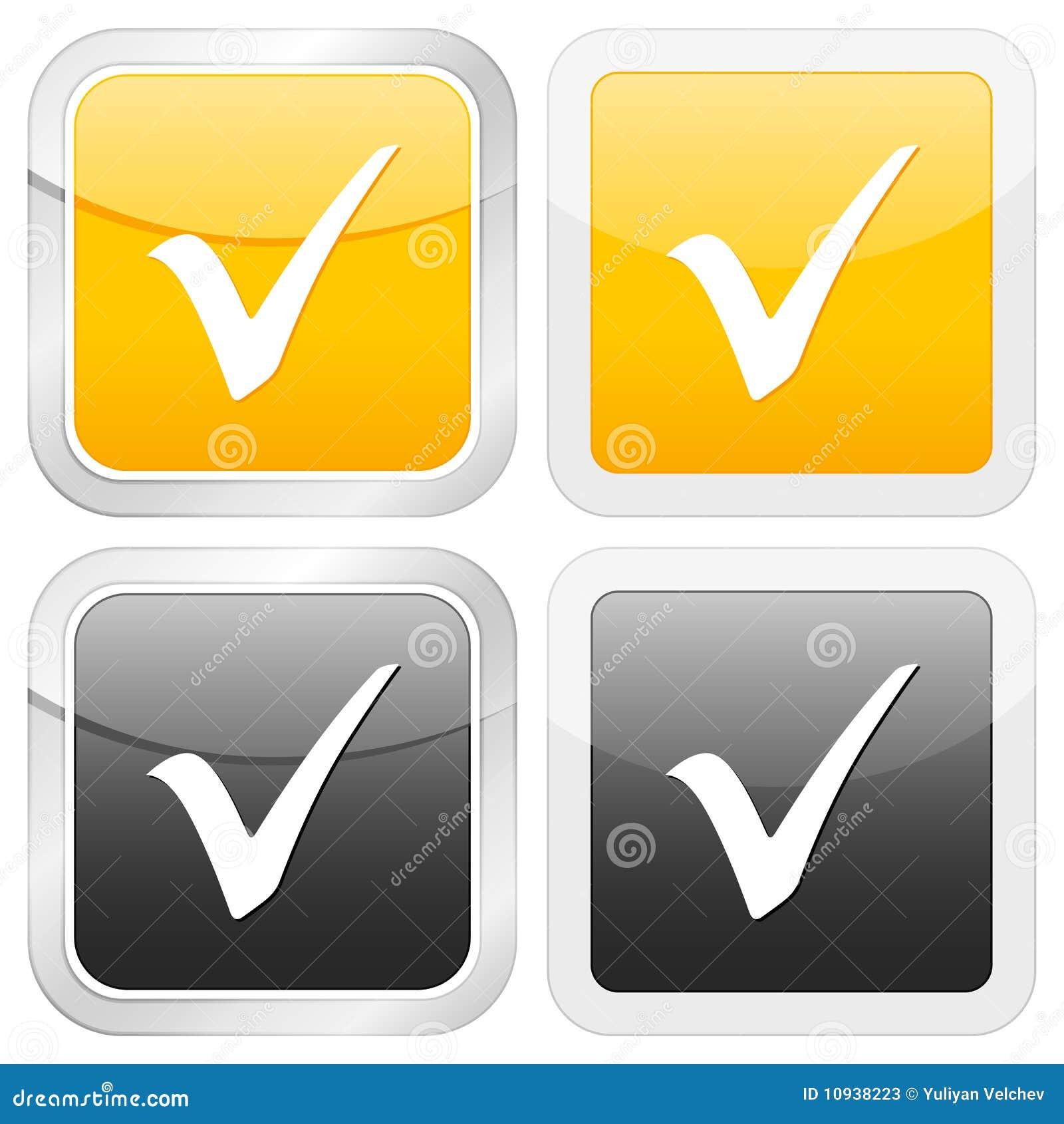 проверите символ иконы квадратный