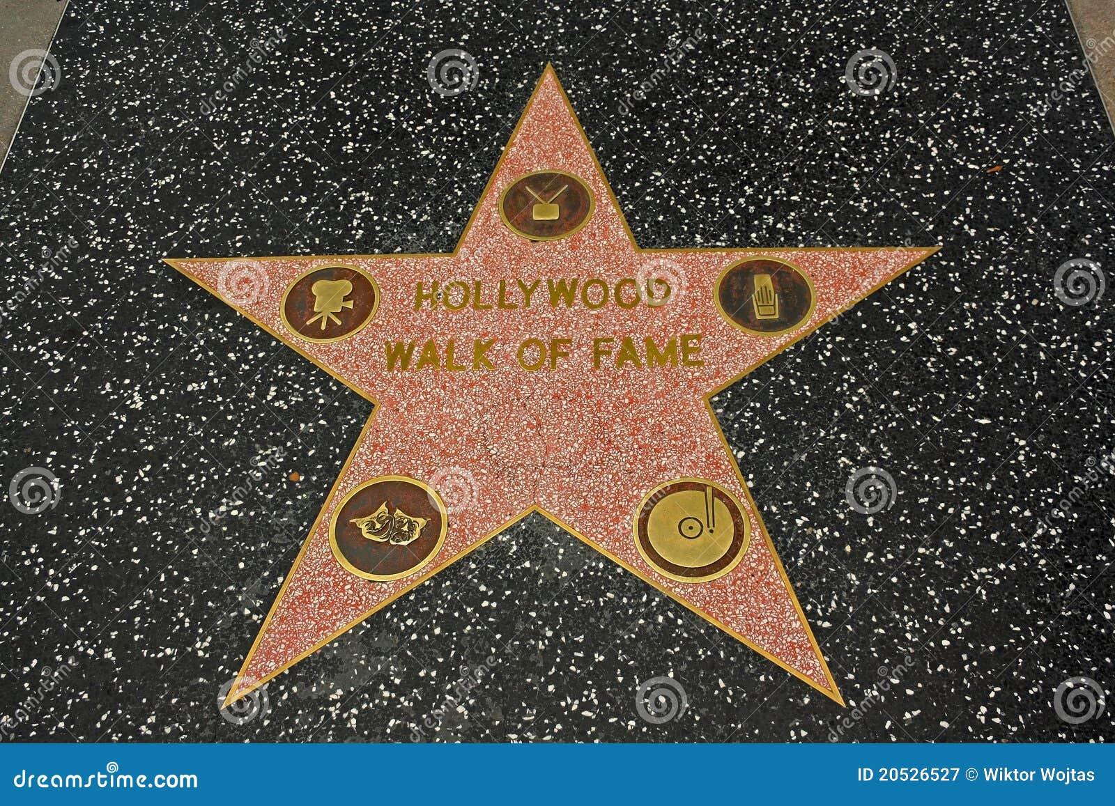 прогулка hollywood славы