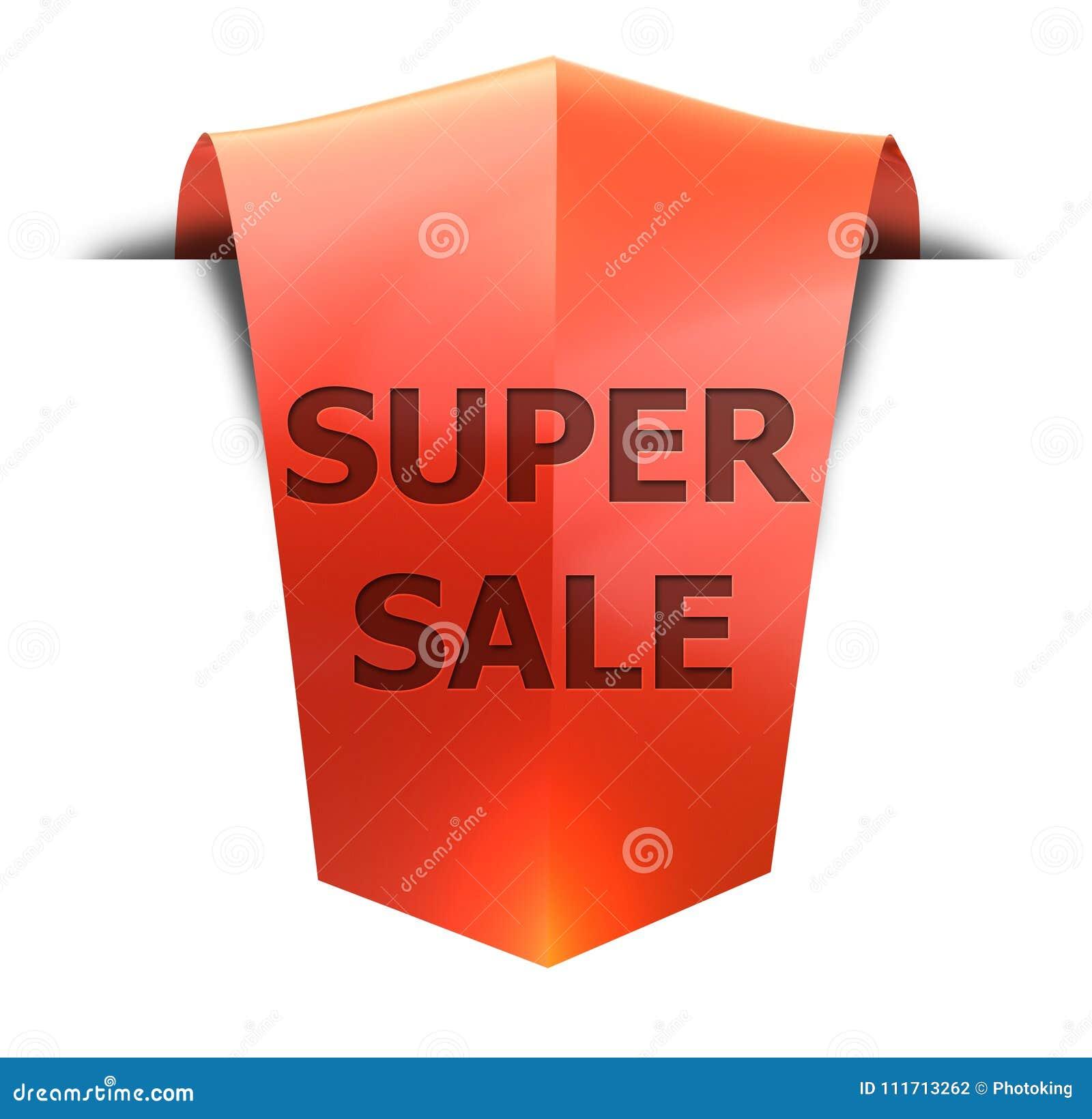 Продажа знамени супер