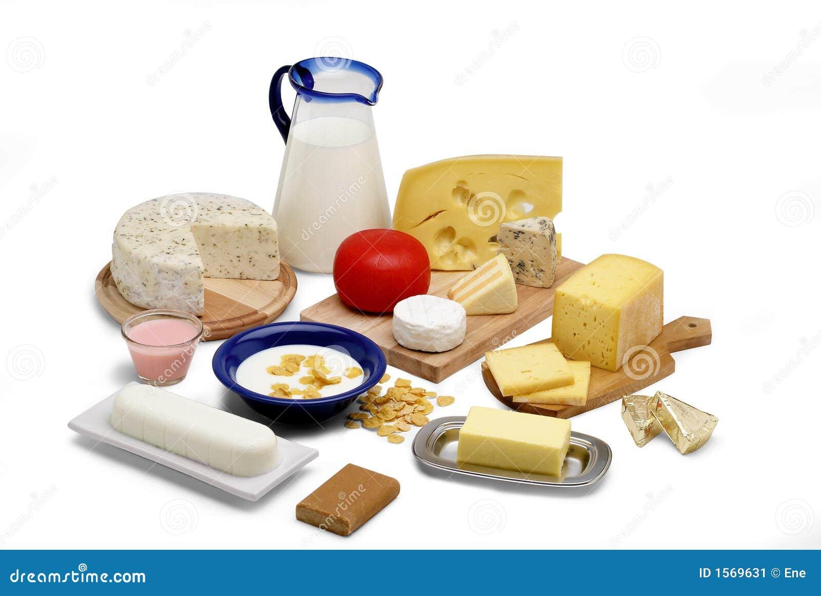 продукты молока