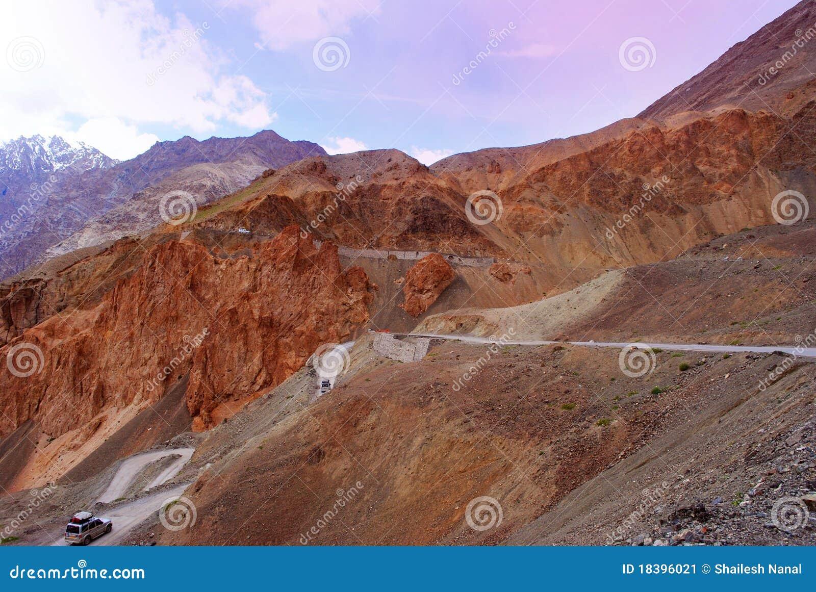 проезжие части гор ladakh