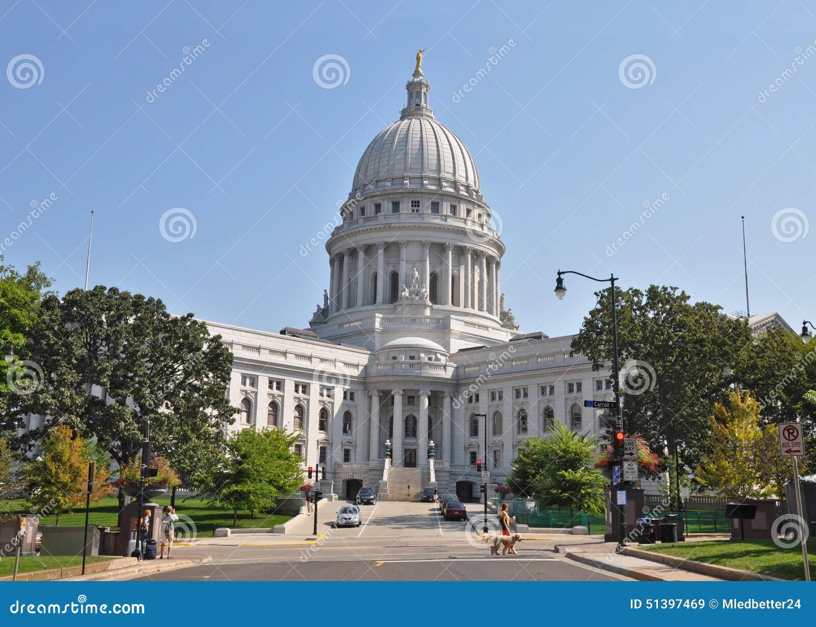 Прописное здание в Madison, Висконсине