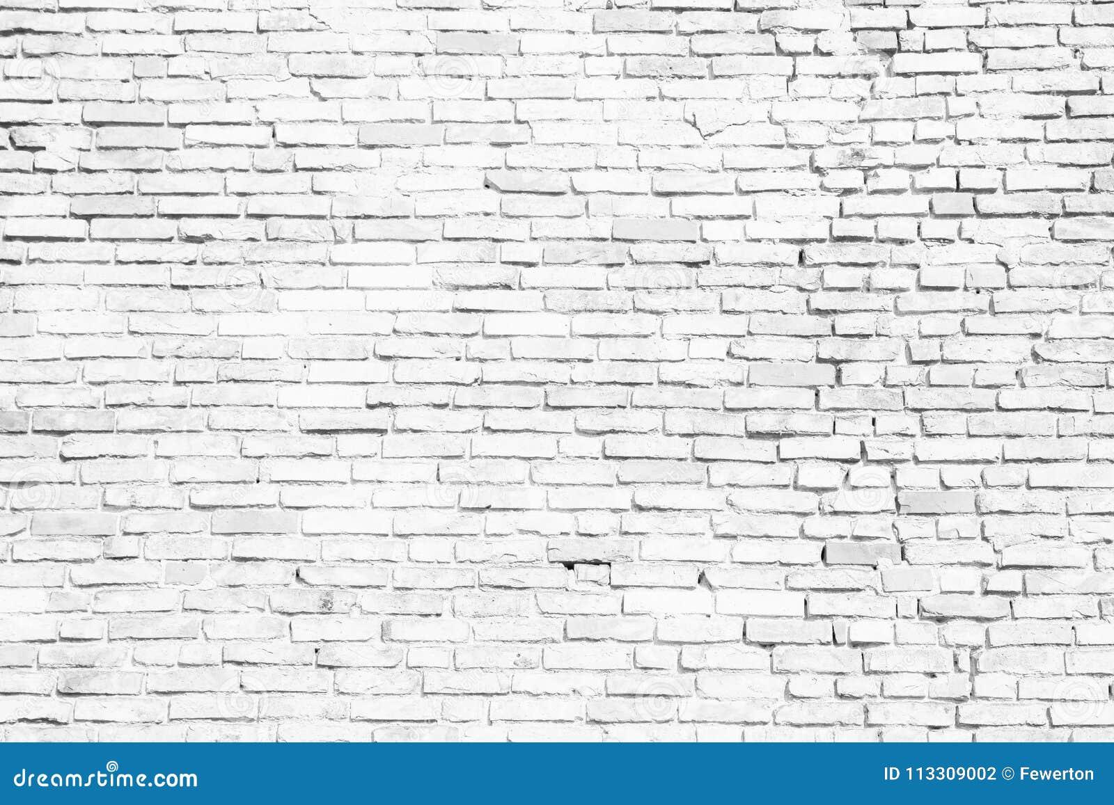 Простая белая и серая кирпичная стена как безшовная предпосылка текстуры картины