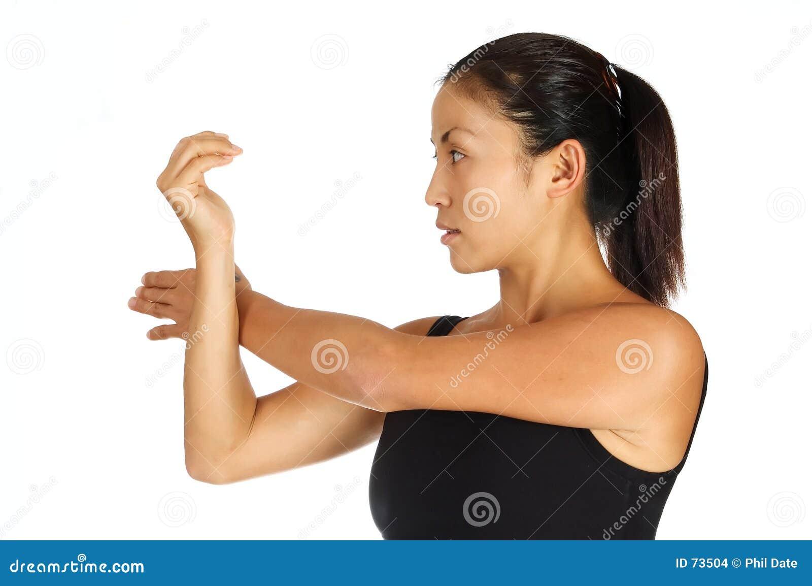 простирание плеча