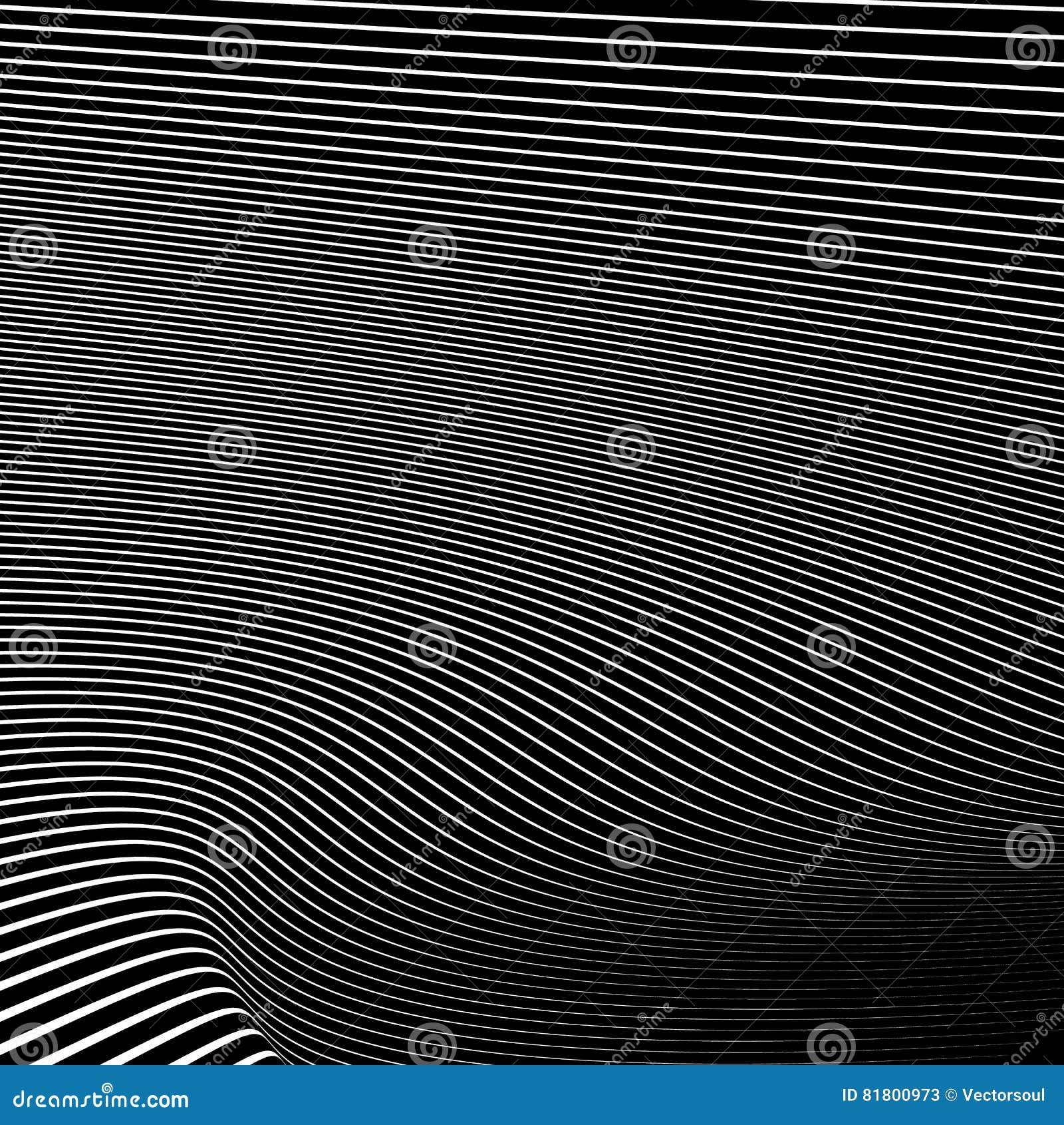 Простые динамические линии картина геометрическая картина Monochrome abst