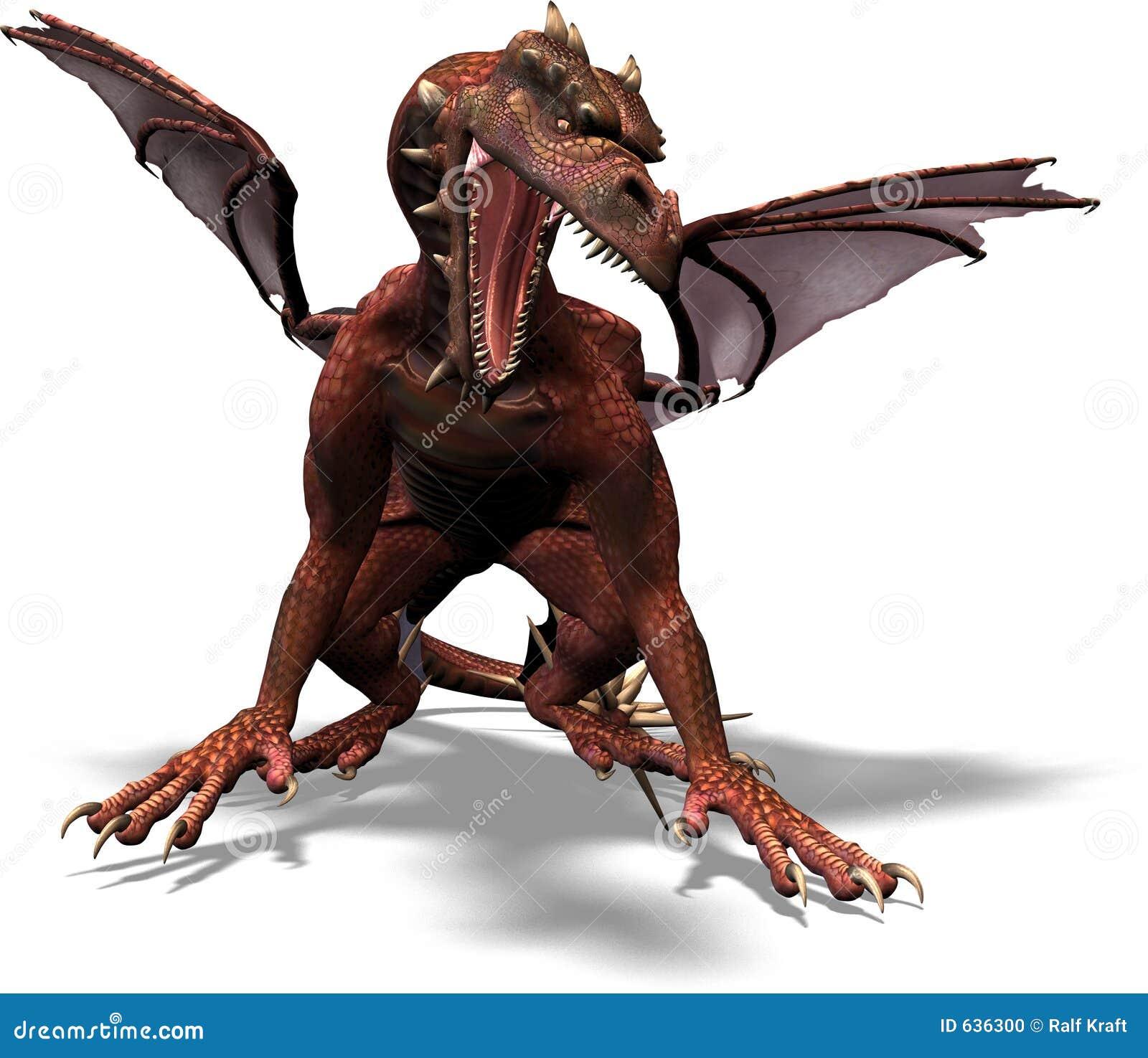 Download просыпает дракон иллюстрация штока. иллюстрации насчитывающей ужасы - 636300