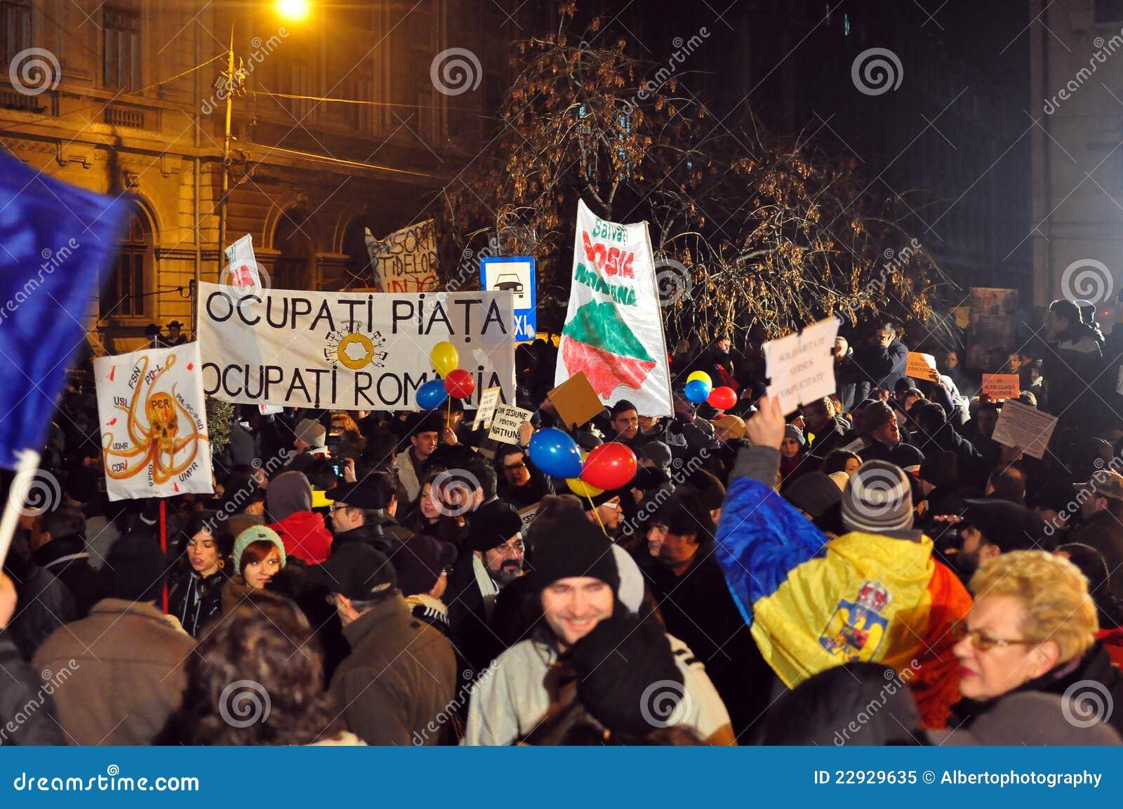 Протесты Бухарест - 19-ое января 2012 - 26