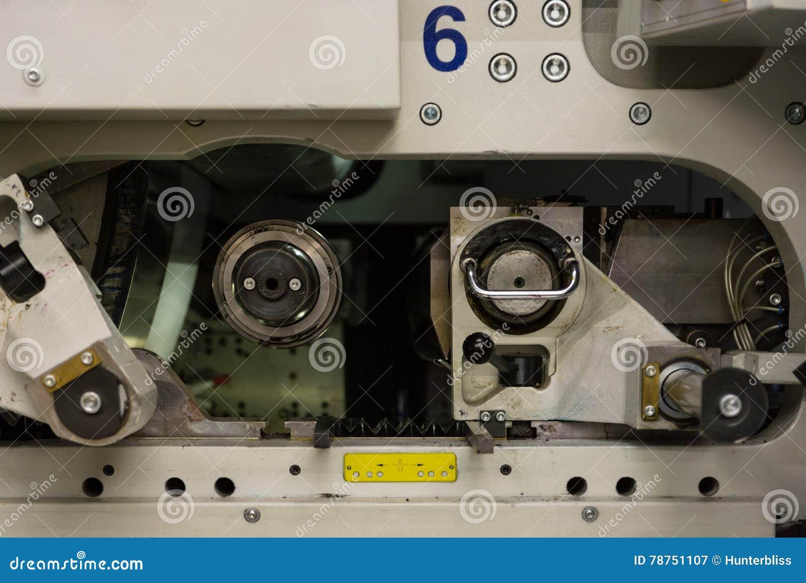 Профессиональная промышленная машина механизма оборудования принтера Mech