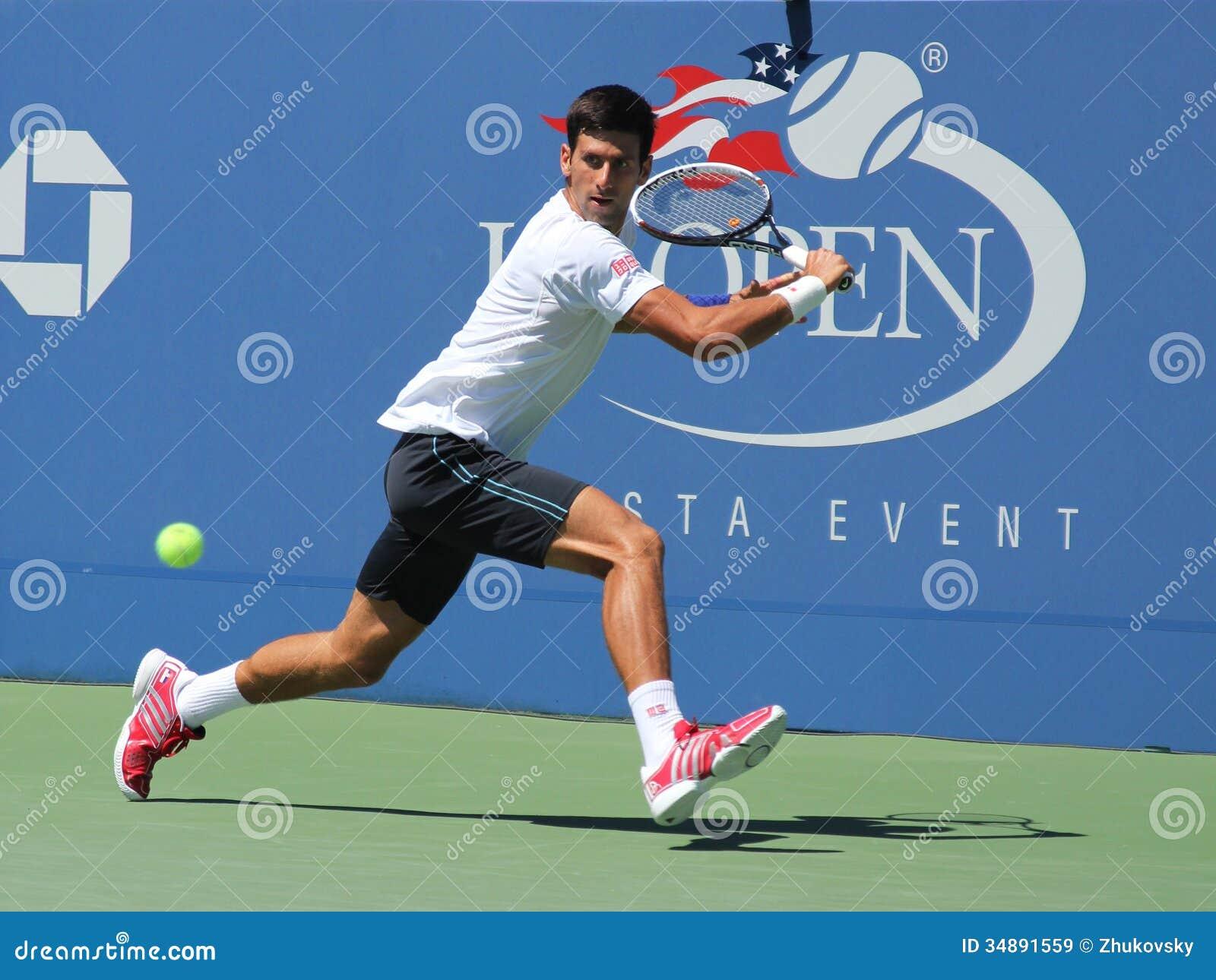 Профессиональные практики Novak Djokovic теннисиста для США раскрывают 2013
